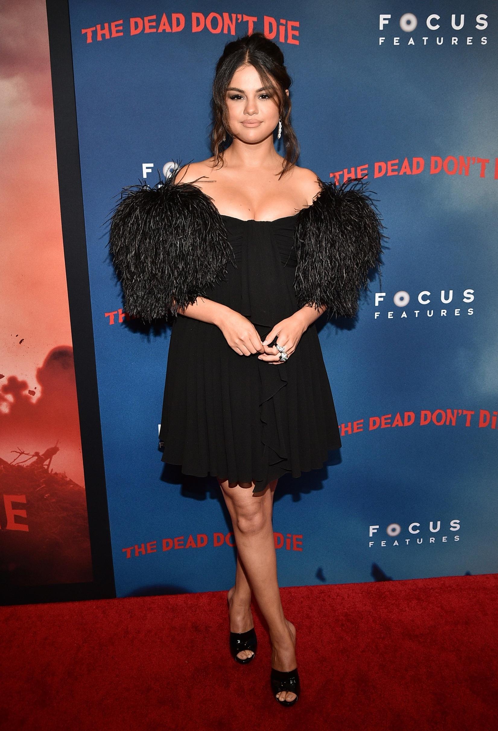 NEW YORK, NEW YORK - JUNE 10:  Selena Gomez attends