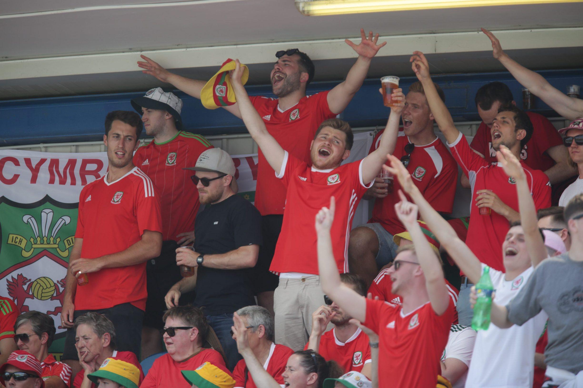 Navijači Walesa na utakmici
