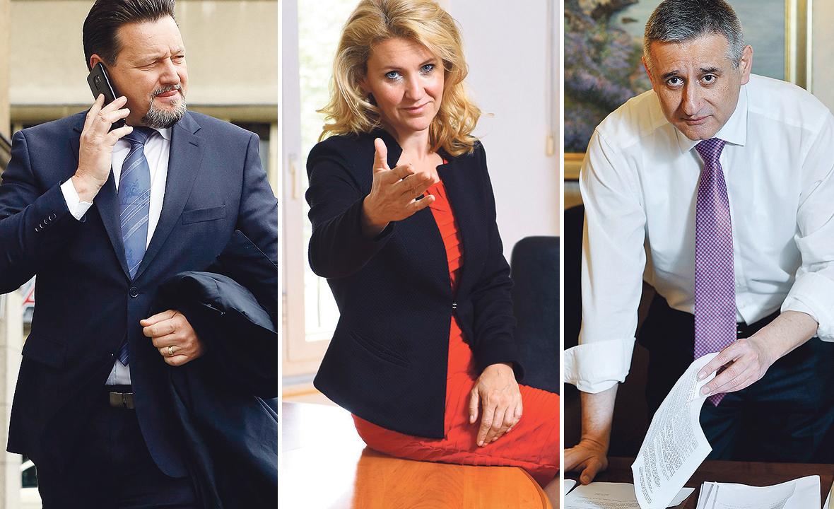 Lovro Kuščević, Nataša Novaković i Tomislav Karamarko