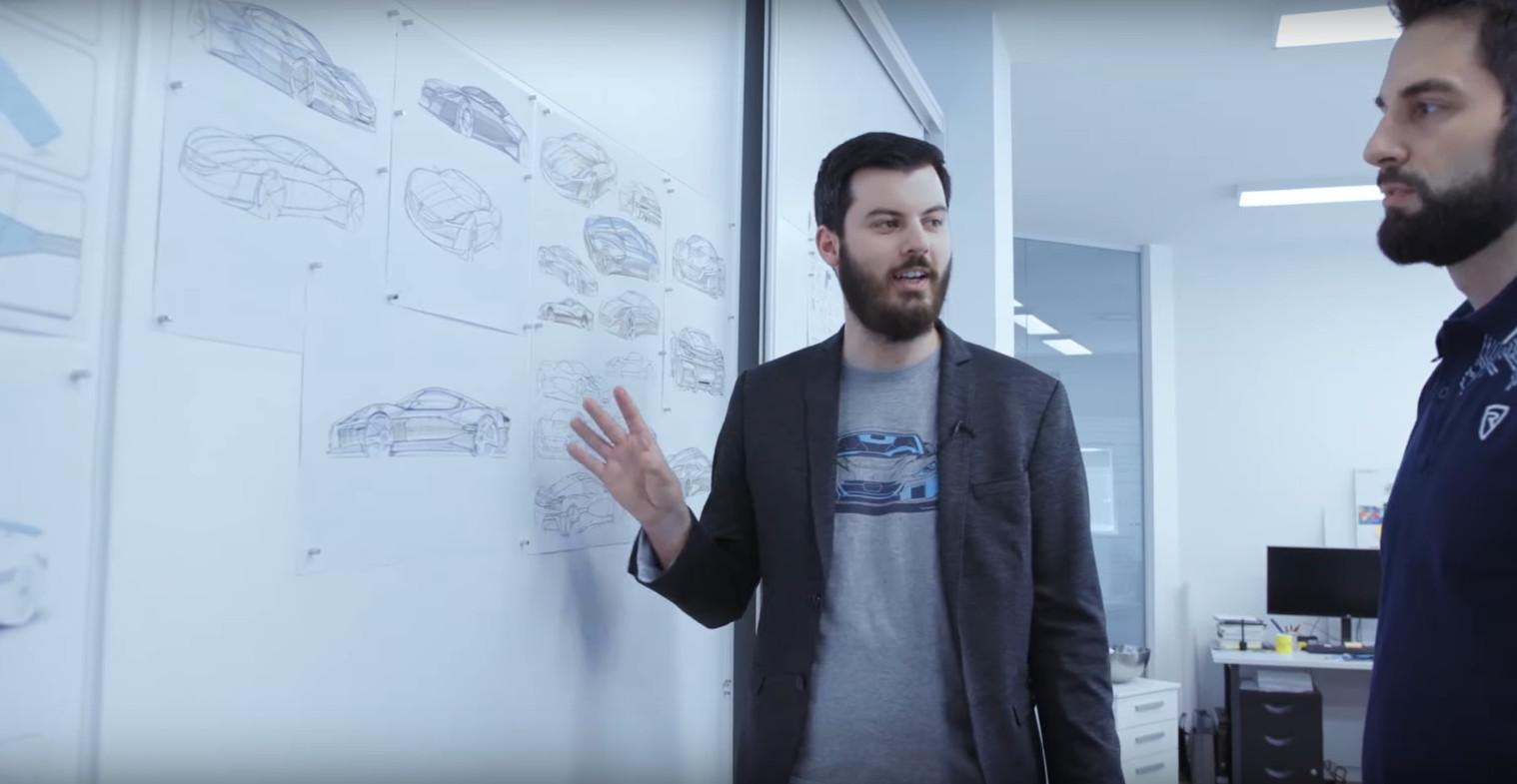 Mate Rimac, poduzetnik i vlasnik tvrtke Rimac Automobilu
