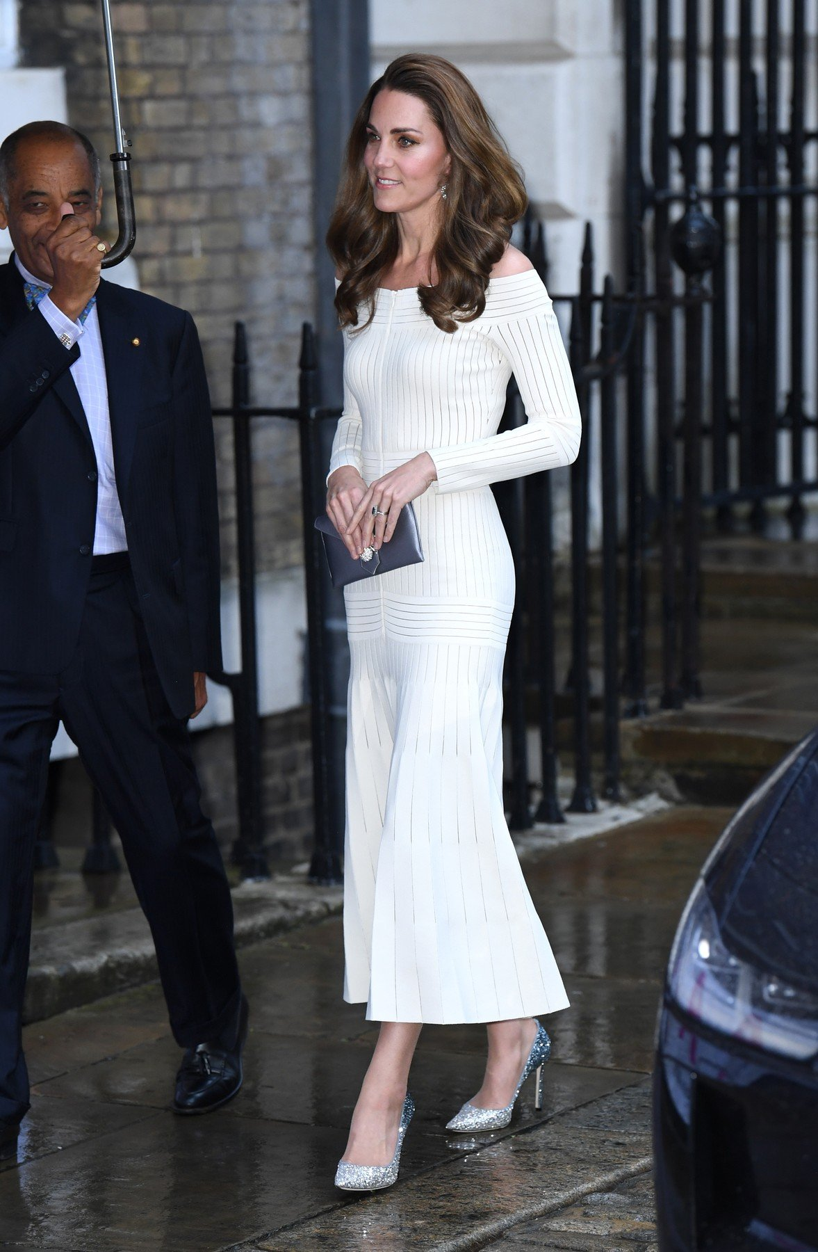 The Duchess of Cambridge arriving at the Addiction Awareness Week Gala Dinner, Spring Restaurant, Somerset House, London. Picture Credit Should Read: Doug Peters/EMPICS, Image: 446689939, License: Rights-managed, Restrictions: , Model Release: no, Credit line: Profimedia, Press Association