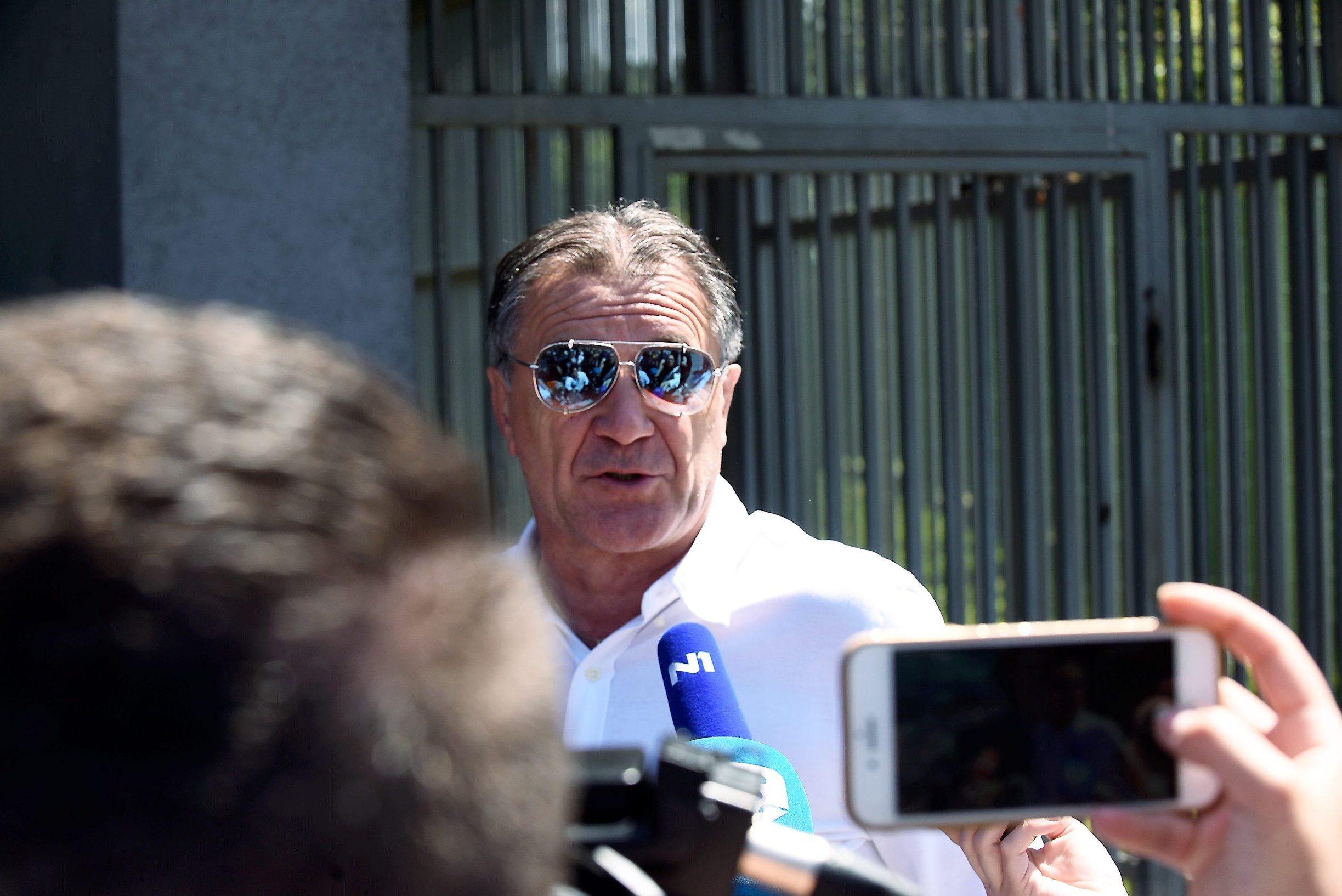 Zdravko Mamić na Sudu Bosne i Hercegovine u Sarajevu