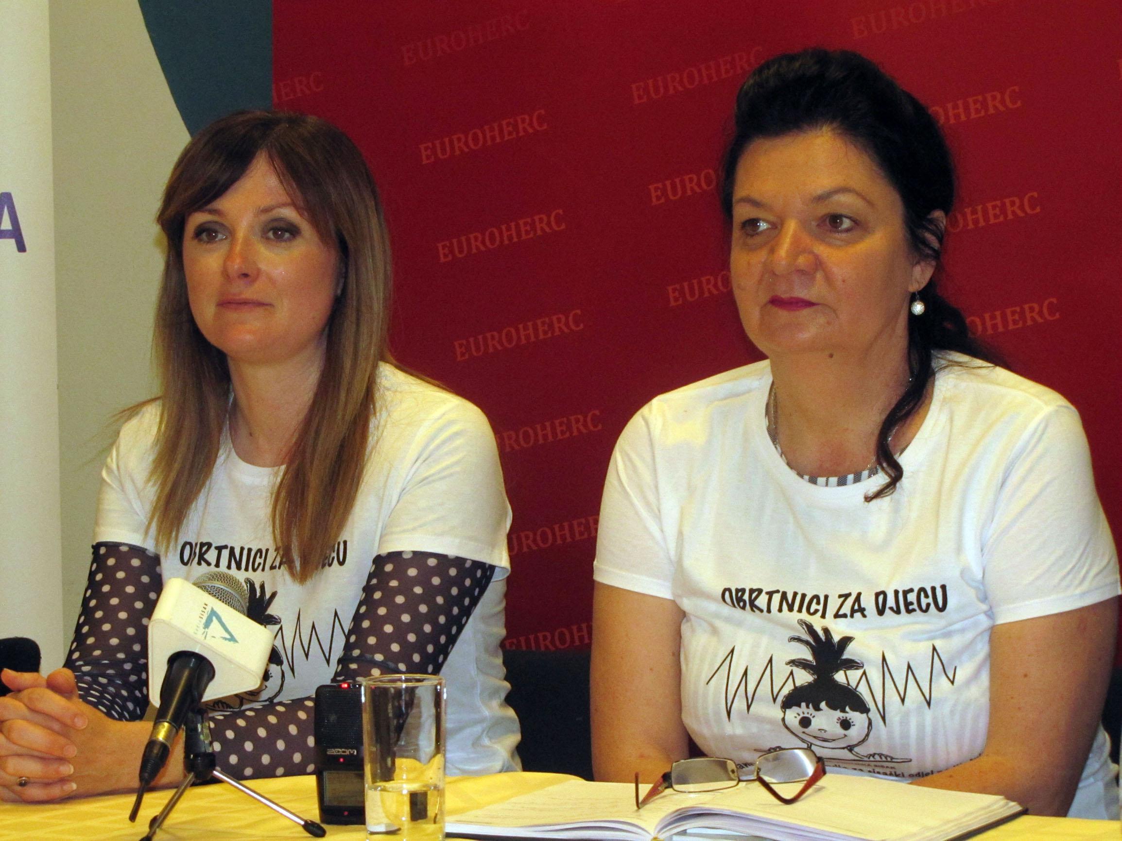 Dr. Željka Josić i Ivanka Čačić