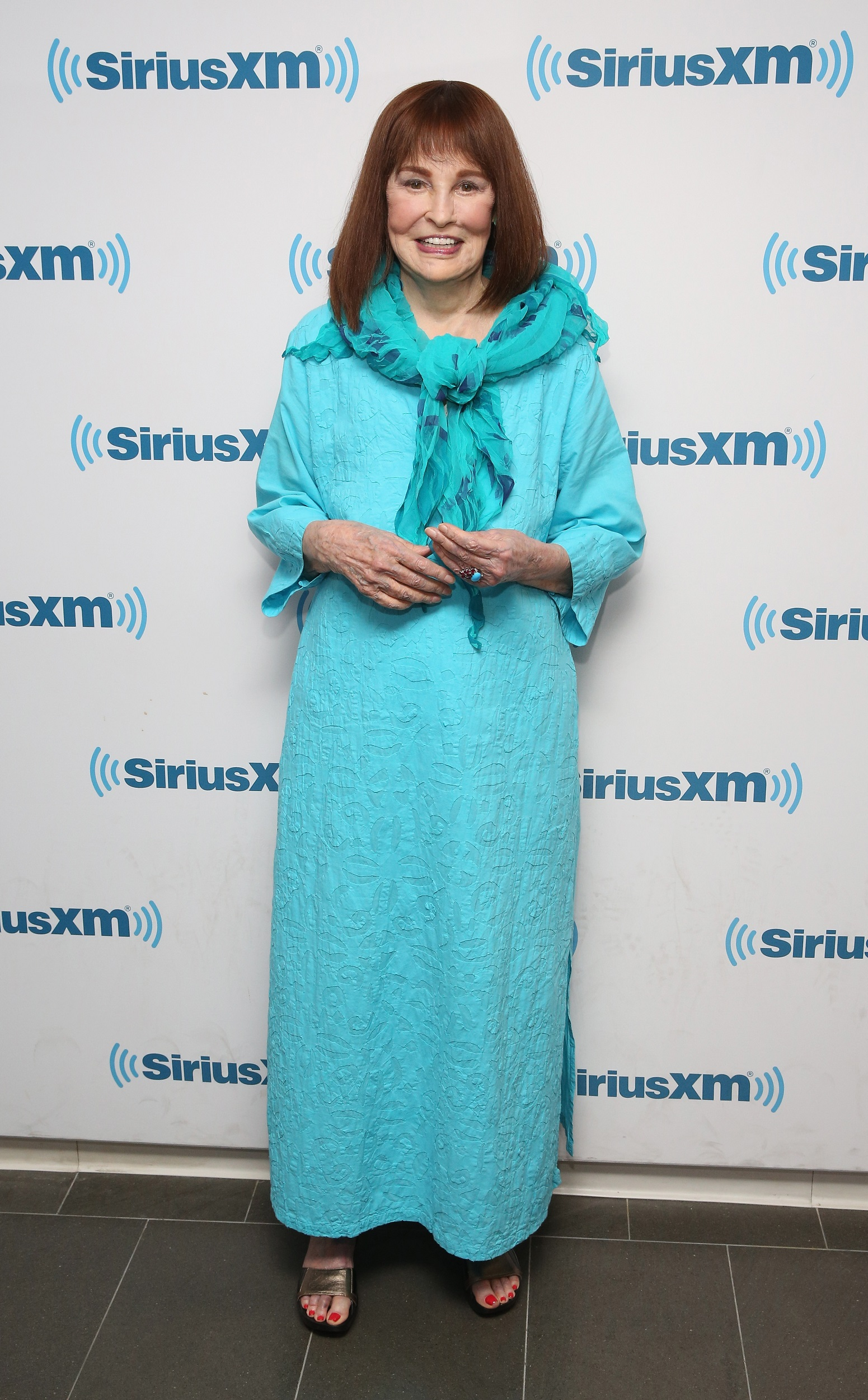 NEW YORK, NY - JULY 14:  Gloria Vanderbilt attends SiriusXM's 'Town Hall' With Gloria Vanderbilt at SiriusXM Studios on July 14, 2016 in New York City. Town Hall To Air On Radio Andy.  (Photo by Robin Marchant/Getty Images for SiriusXM)