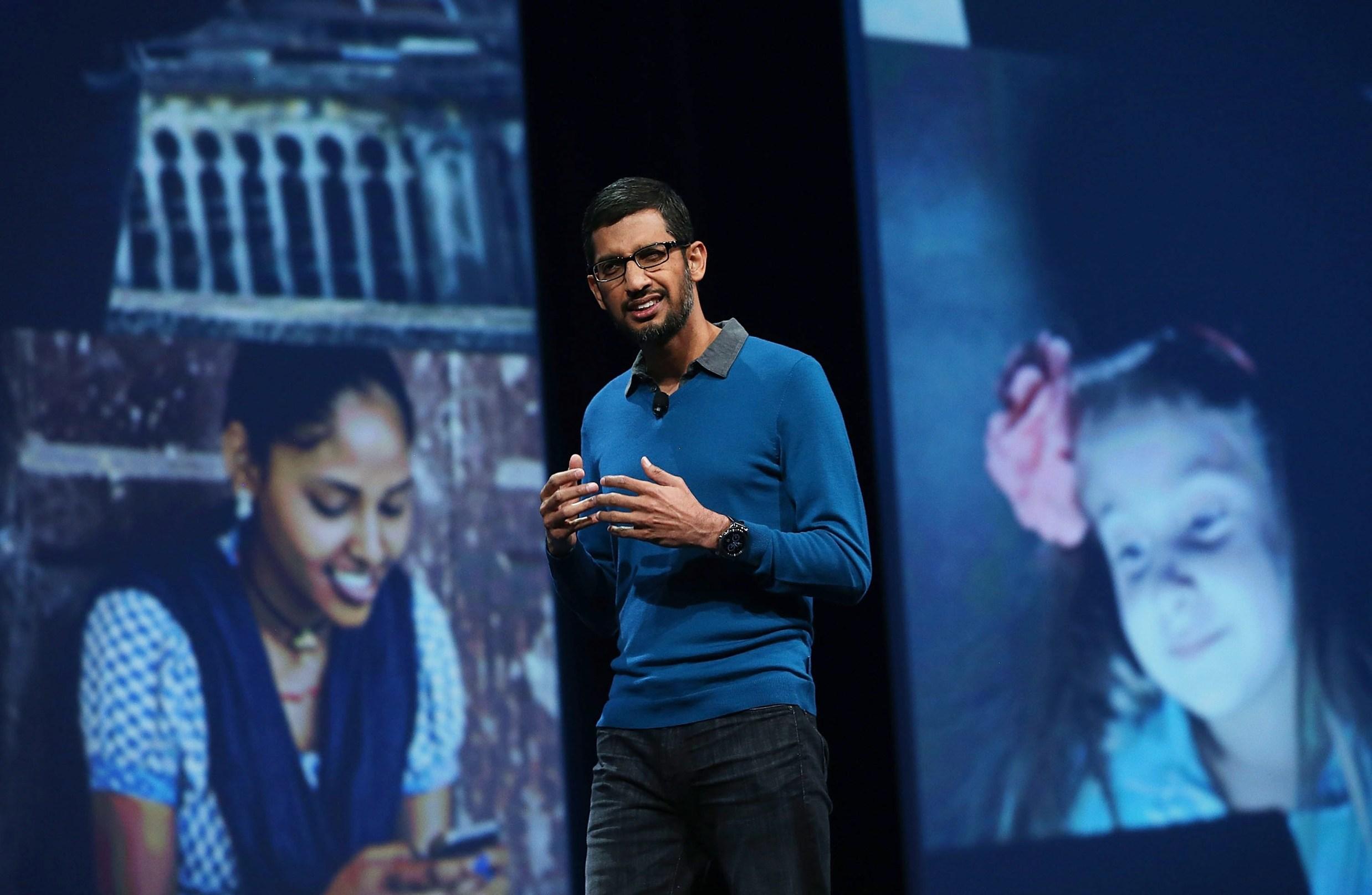 Sundar Pichai, izvršni direktor Googlea