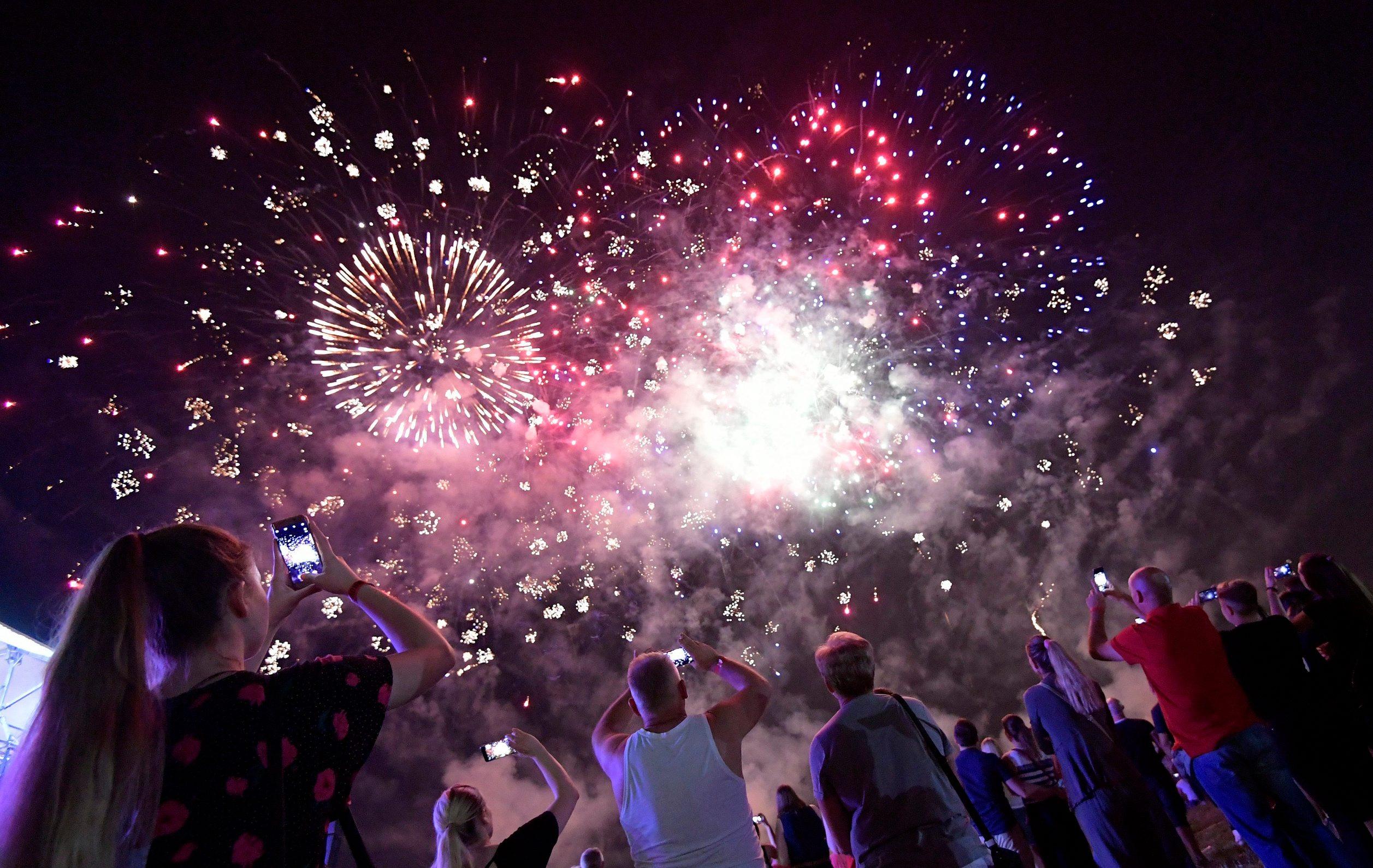 Vatromet nizozemske ekipe Heron Fireworks na Bundeku