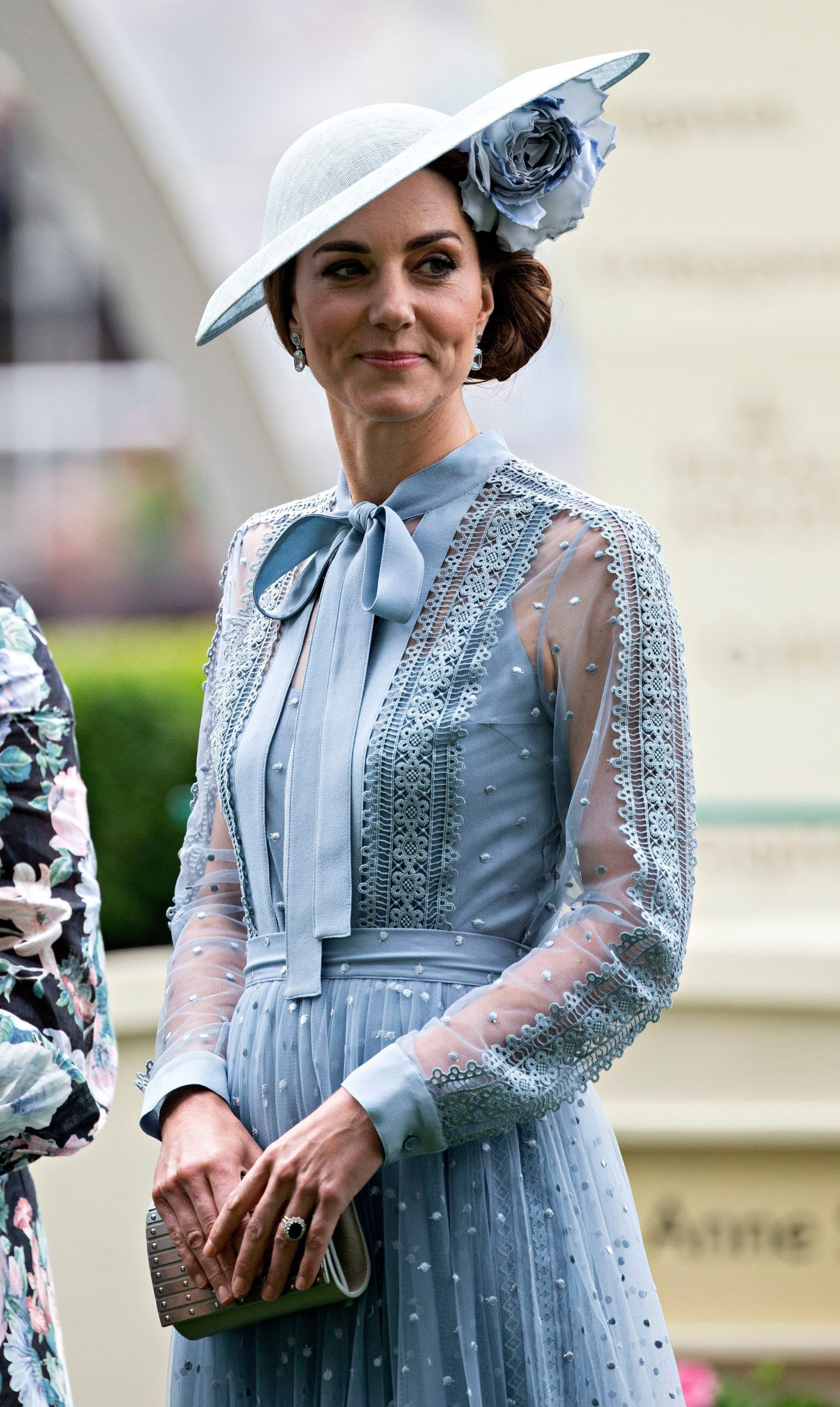 Catherine Duchess of Cambridge. Royal Ascot, Day 1, UK - 18 Jun 2019, Image: 449120593, License: Rights-managed, Restrictions: , Model Release: no, Credit line: Profimedia, TEMP Rex Features