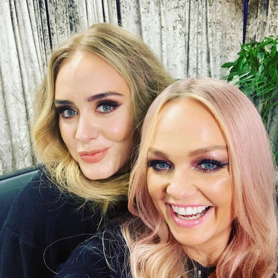 Non Exclusive: Adele & Emma Bunton hang out at The Spice Girls show Wembley  -------  DISCLAIMER:  BEEM does not claim any Copyright or License in the attached material. Any downloading fees charged by BEEM are for BEEM's services only, and do not, nor are they intented to, convey to the user any Copyright or License in the material. By publshing this material, the user expressly agrees to indemnify and to hold BEEM harmless from any claims, demands, or causes of action arising out of or connected in any way with user's publication of the material., Image: 448219655, License: Rights-managed, Restrictions: MANDATORY CREDIT OR DOUBLE FEE WILL BE CHARGED - **Strictly no use in repeat online galleries without payment**, Model Release: no, Credit line: Profimedia, Beem