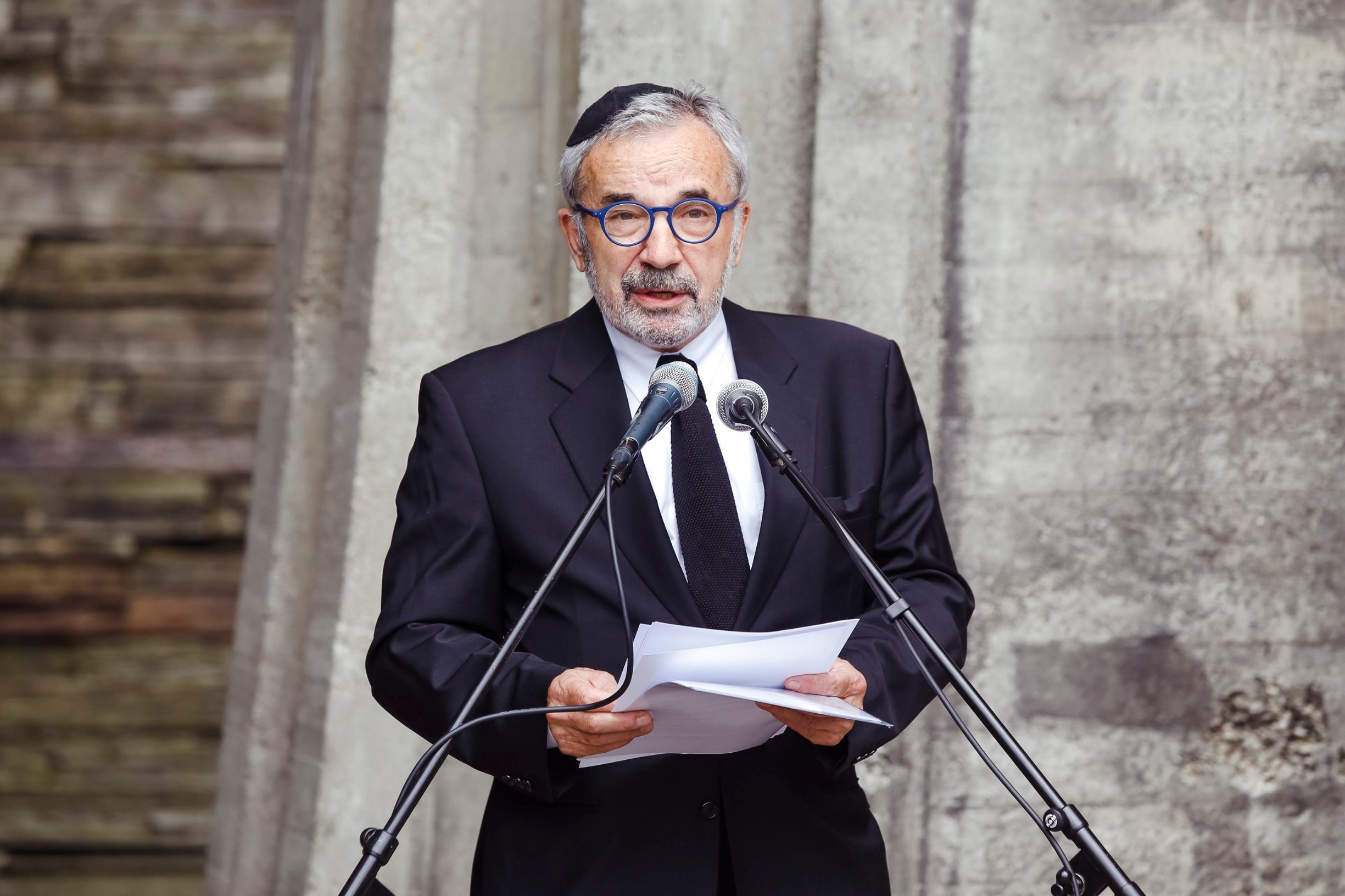 Ognjen Kraus, predsjednik Židovske općine Zagreb
