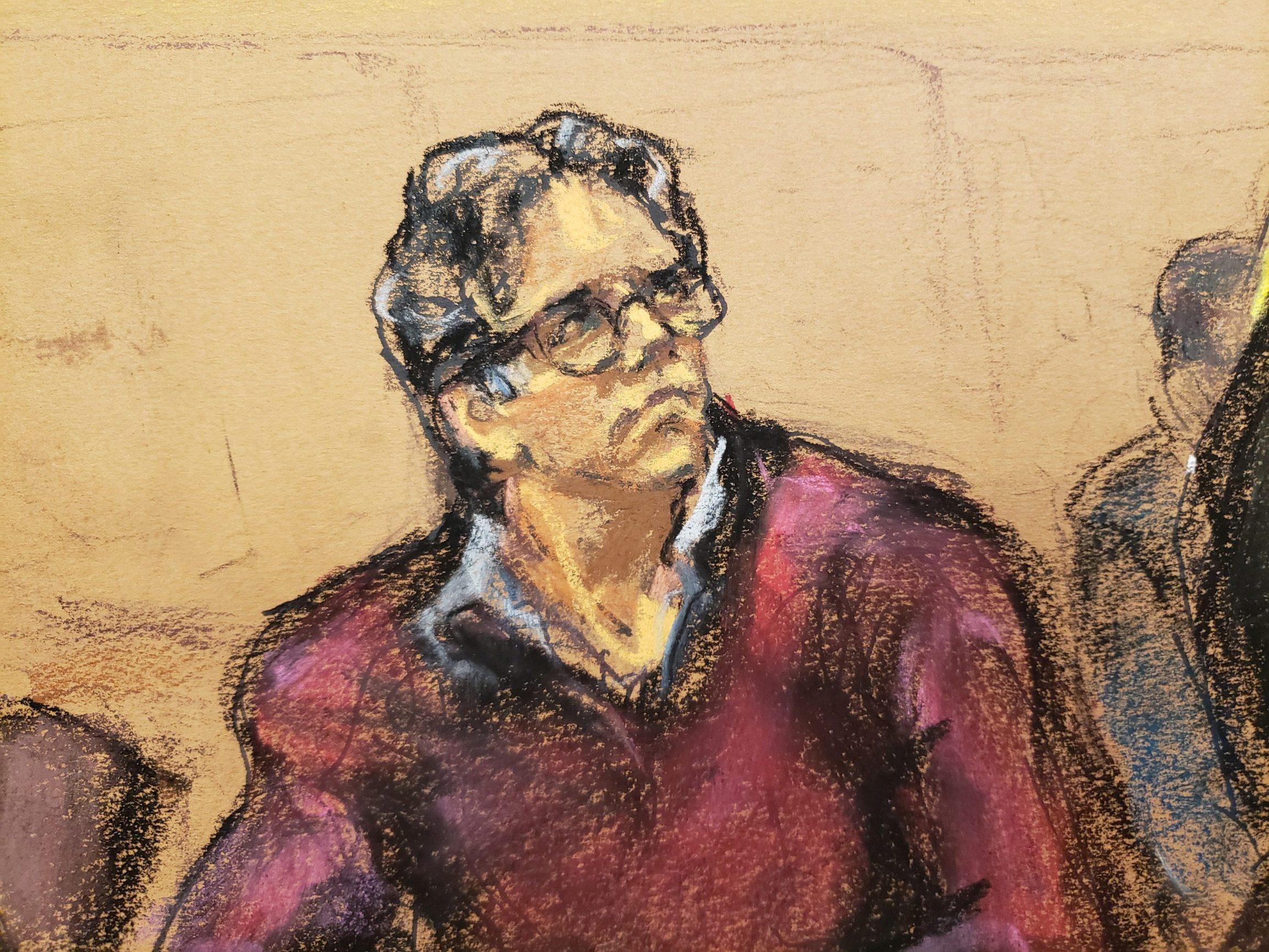 Sudski portret Keitha Ranierea