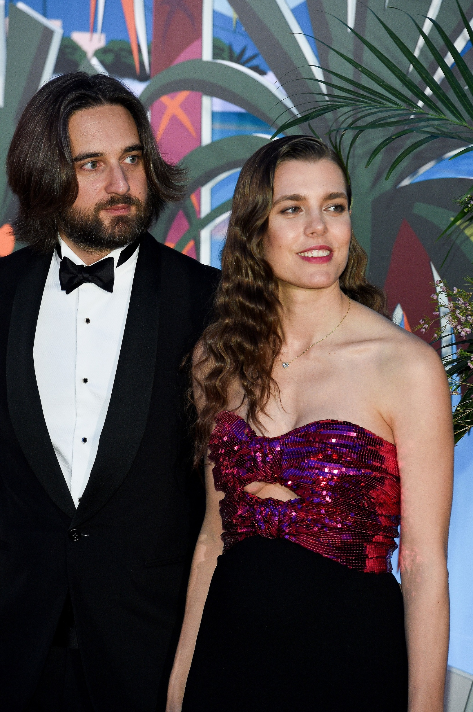 MONACO, MONACO - MARCH 30: (L-R) Dimitri Rassam and Charlotte Casiraghi attend the Rose Ball 2019 to benefit the Princess Grace Foundation on March 30, 2019 in Monaco, Monaco. (Photo by PLS Pool/Getty Images)
