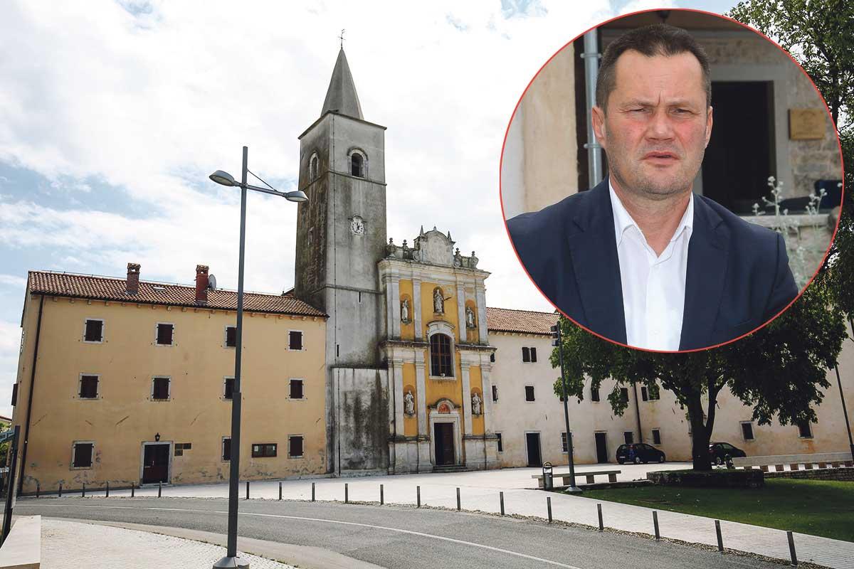 Općina Sveti Petar u Šumi.  Mario Bratulić, načelnik općine (u krugu)