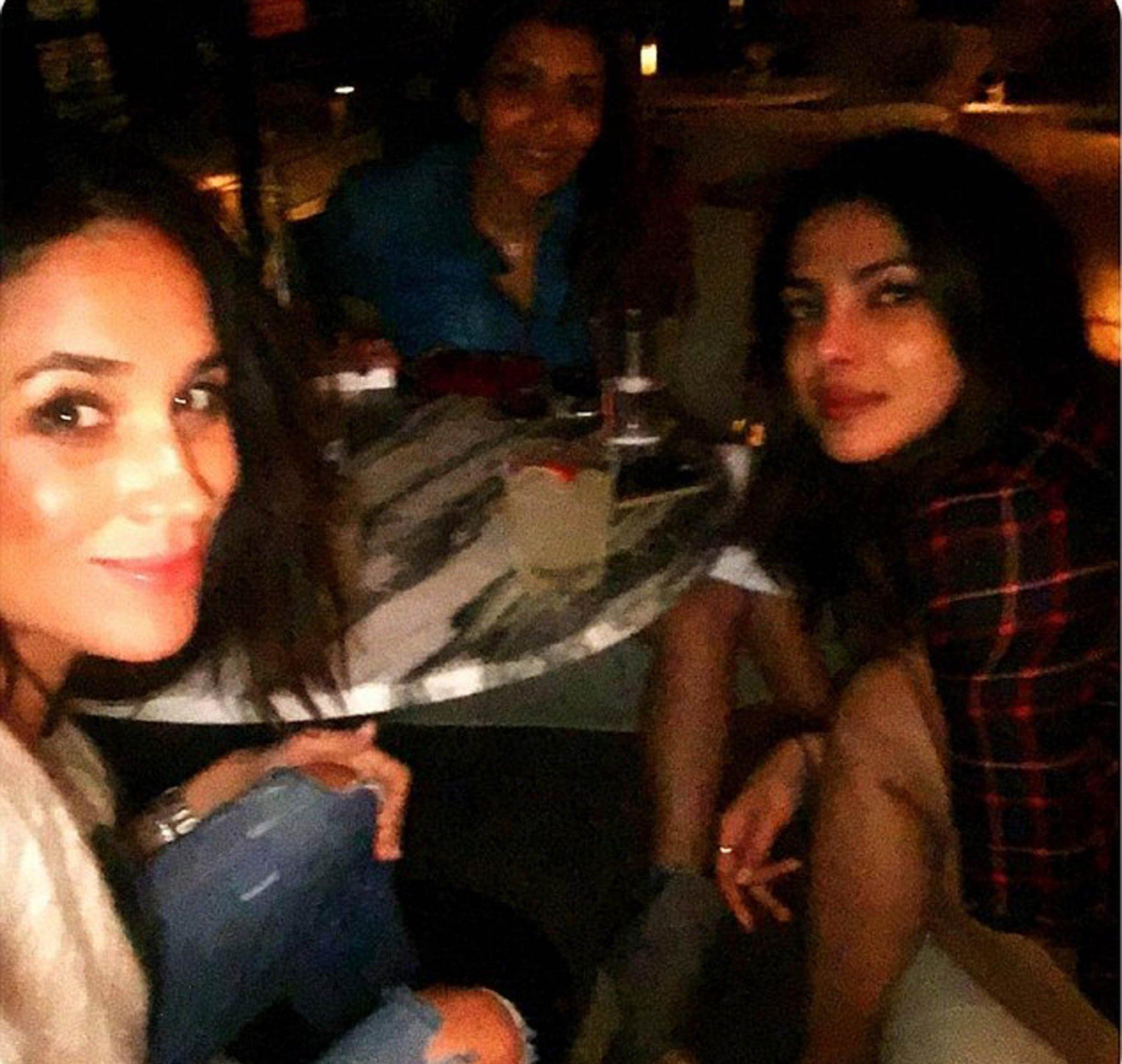 01-12-2016  Celebrity Selfies   Pictured: Priyanka Chopra Meghan Markle, Image: 307321501, License: Rights-managed, Restrictions: , Model Release: no, Credit line: Profimedia, Planet
