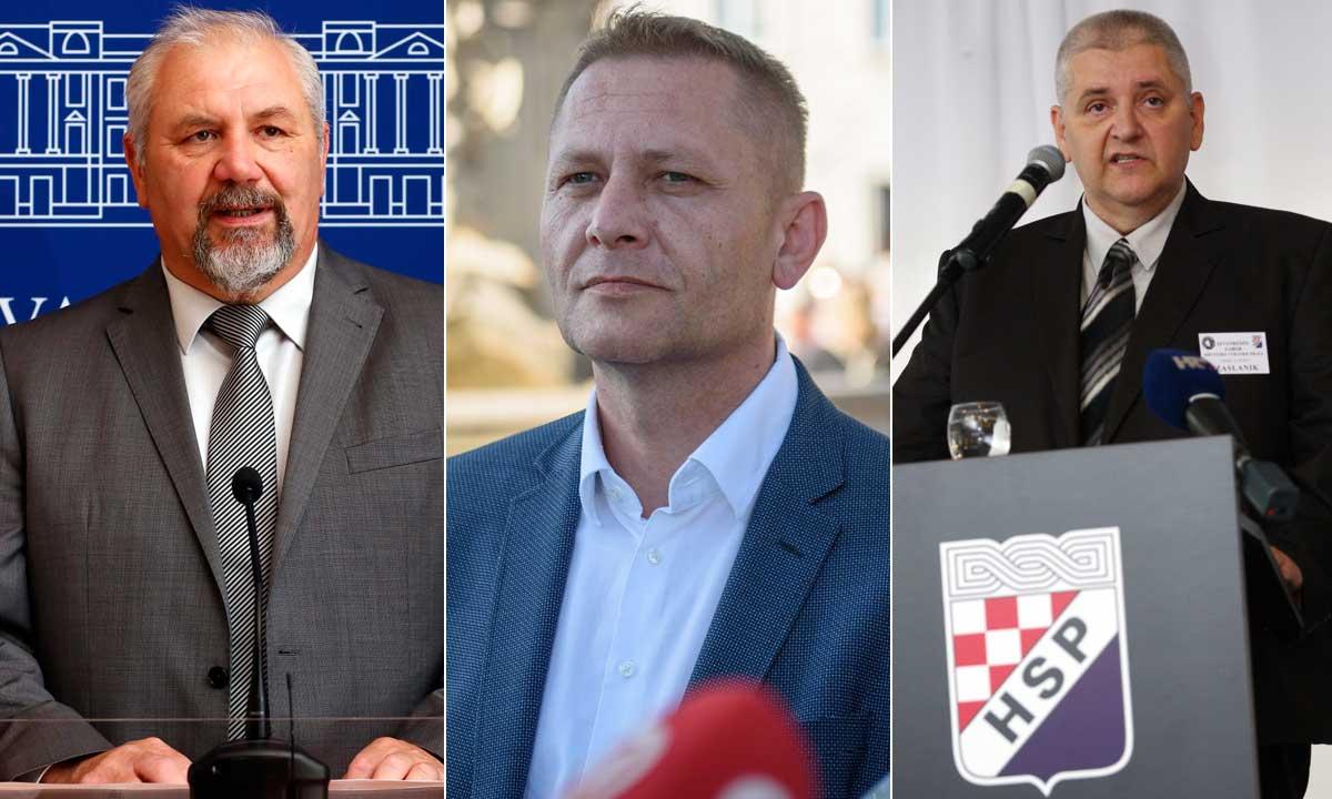 Silvani Hrelja, Krešo Beljak, Anto Đapić