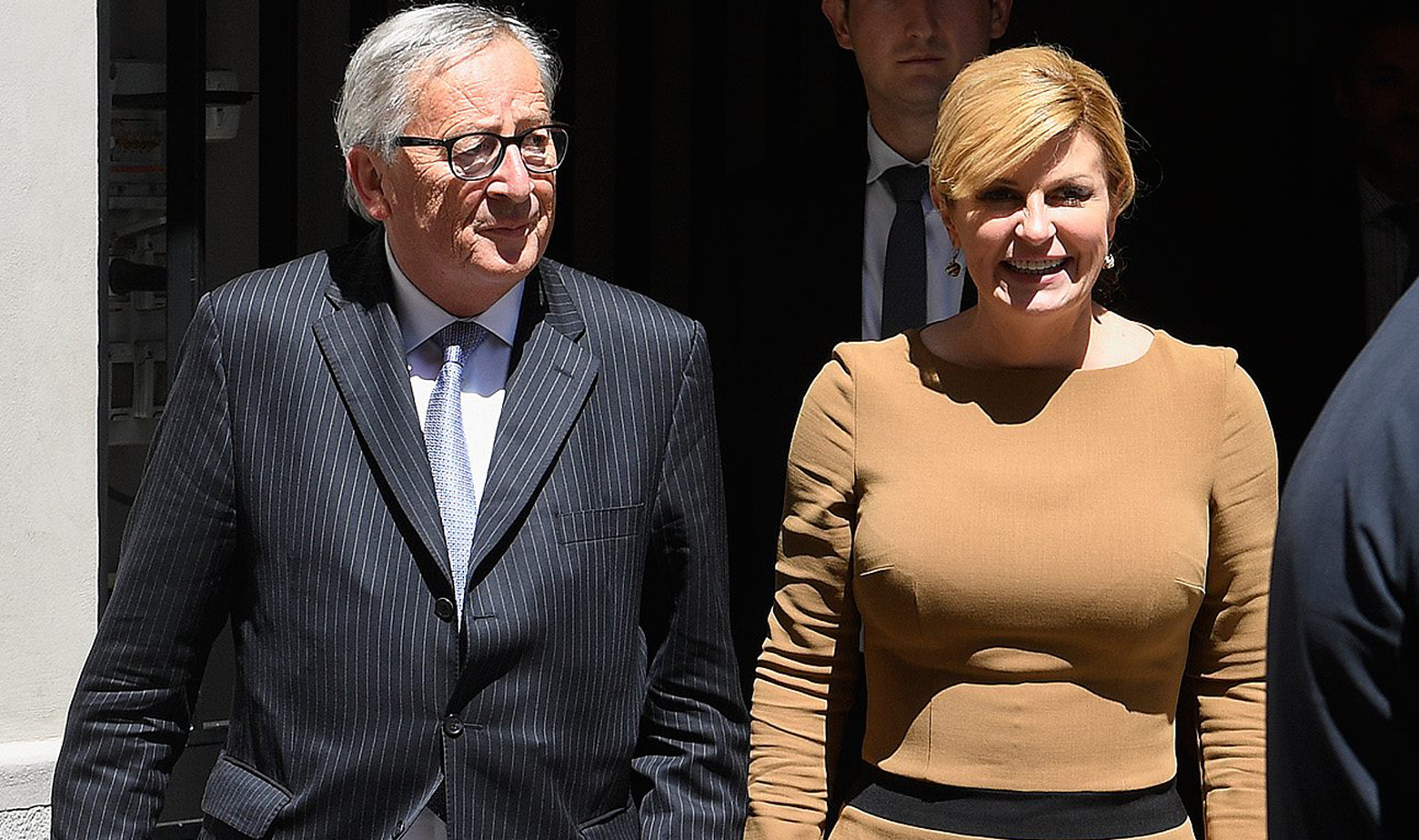 Jean-Claude Juncker i Kolinda Grabar Kitarović