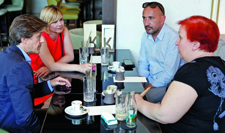 Boris Vlašić, Sandra Benčić, Hrvoje Zekanović, Zrinka Pavlić