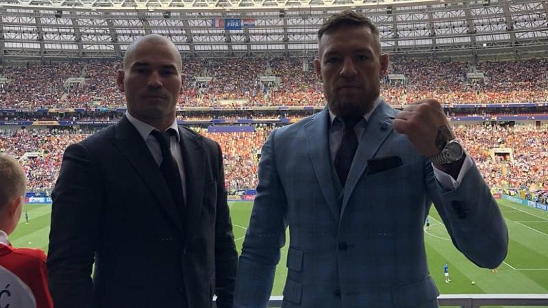 Artem Lobov i Conor McGregor