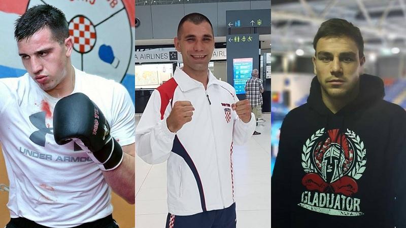Marko Milun, Damir Plantić i Toni Filipi