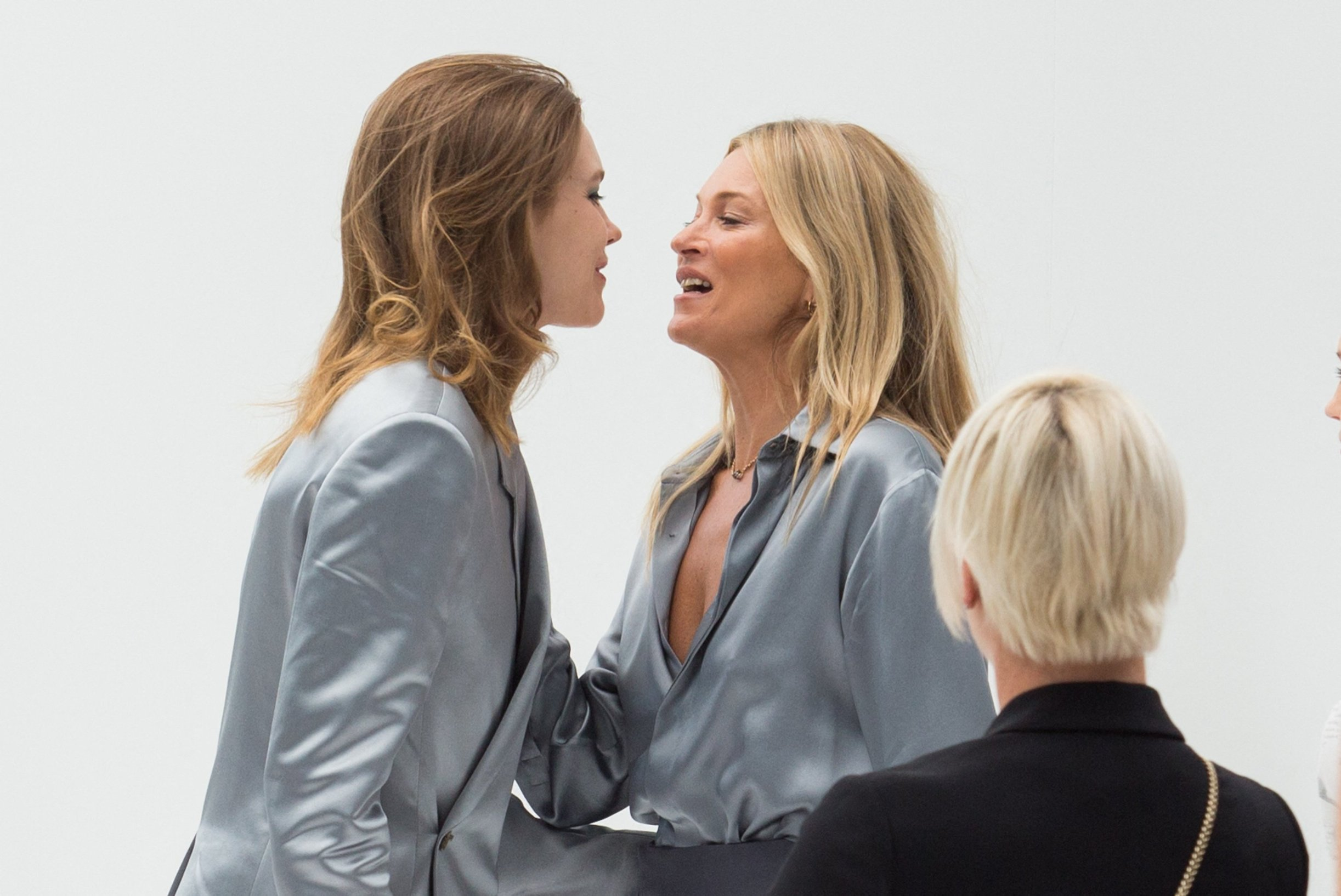 Natalia Vodianova and Kate Moss arrives at Dior fashion Show during Menswear Spring/Summer 2020 on June 21, 2019 in Paris, France., Image: 450496701, License: Rights-managed, Restrictions: , Model Release: no, Credit line: Profimedia, Abaca Press