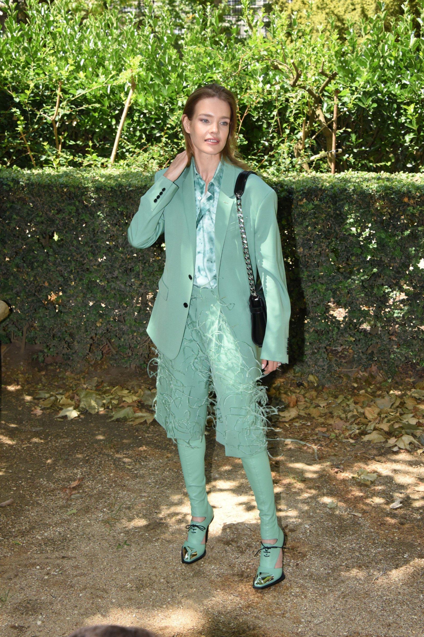Natalia Vodianova . Berluti Fashion Show during the Spring/Summer 2020 Paris Fashion Week Menswear . 21/06/2019-Paris, FRANCE.//BENHAMOU_DSC_3308/1906220251/Credit:LAURENT BENHAMOU/SIPA/1906220300, Image: 450506143, License: Rights-managed, Restrictions: , Model Release: no, Credit line: Profimedia, TEMP Sipa Press