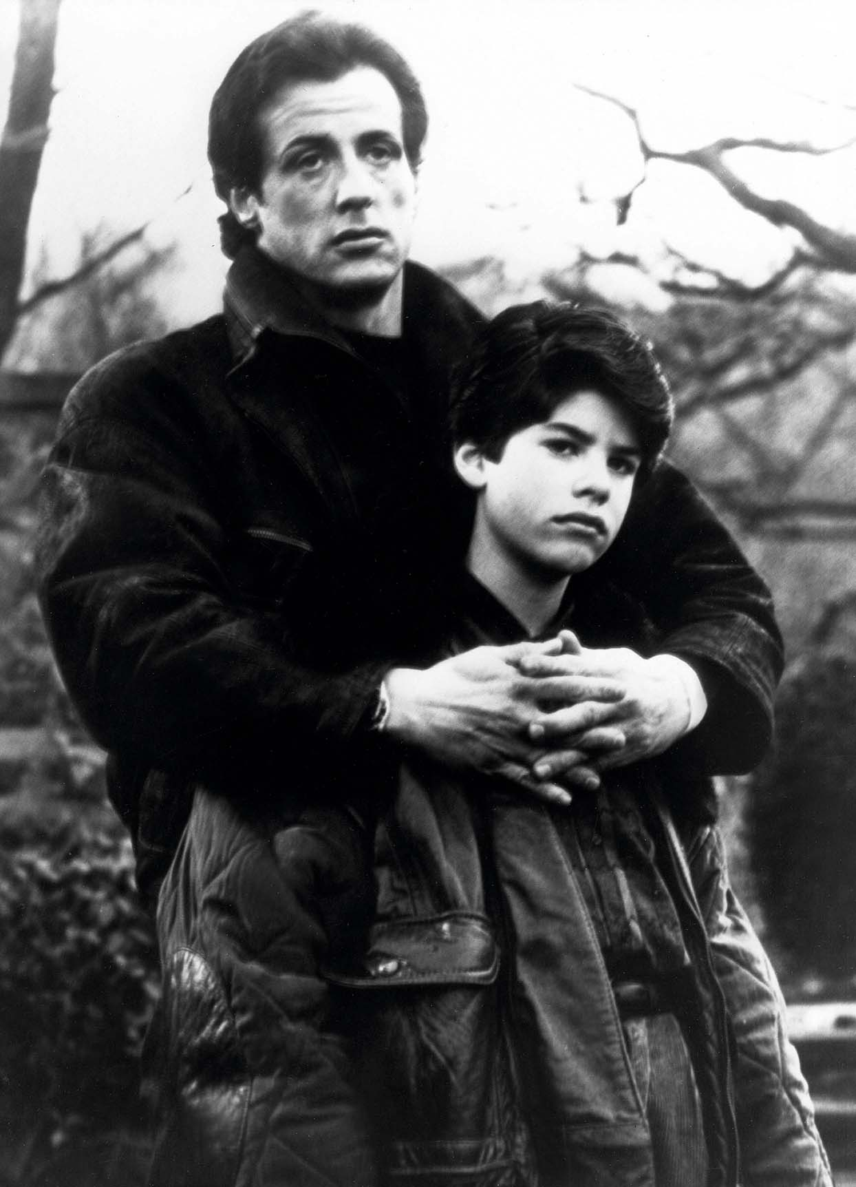 SYLVESTER STALLONE with his son Sage Stallone.Rocky V.1990., Image: 121687693, License: Rights-managed, Restrictions: , Model Release: no, Credit line: Profimedia, Zuma Press - Archives