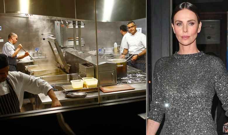 Kuhinja Tamarinda u Mayfairu; Charlize Theron na izlazu iz restorana