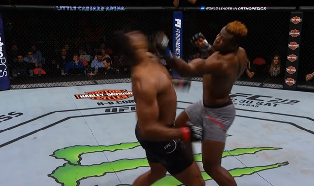 Alistar Overeem i Francis Ngannou (UFC 218)