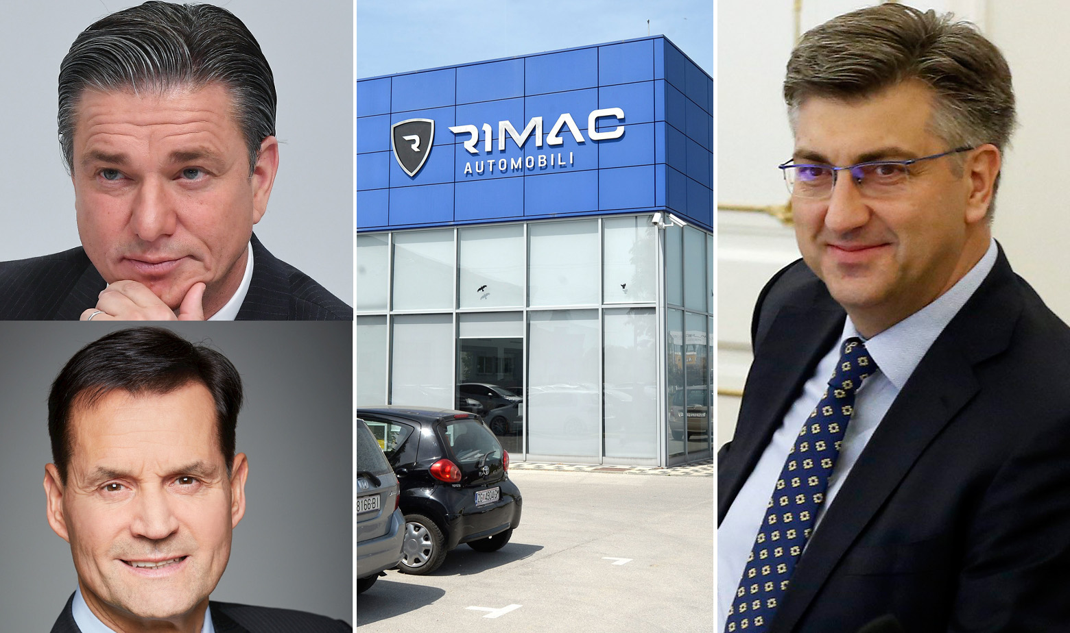 Lutz Meschke, Thomas Schemera, pogon Rimac Automobila i Andrej Plenković