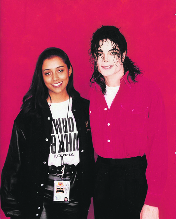 Michael Jackson i Shana Mangatal