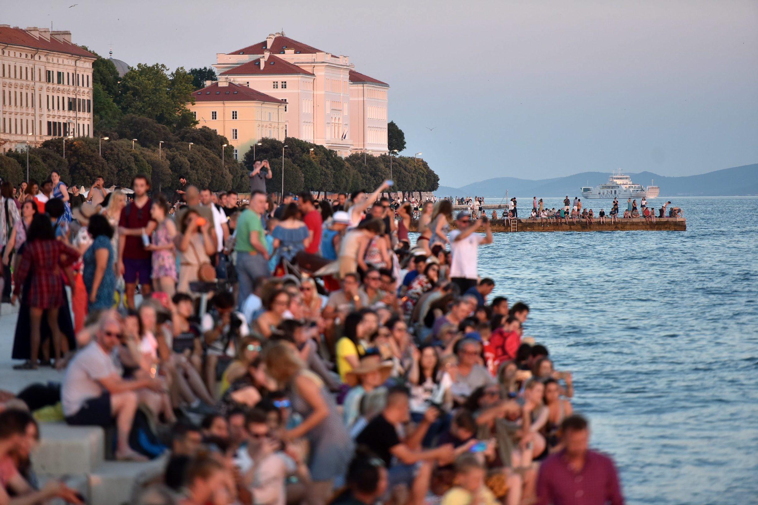 Zadar, morske orgulje