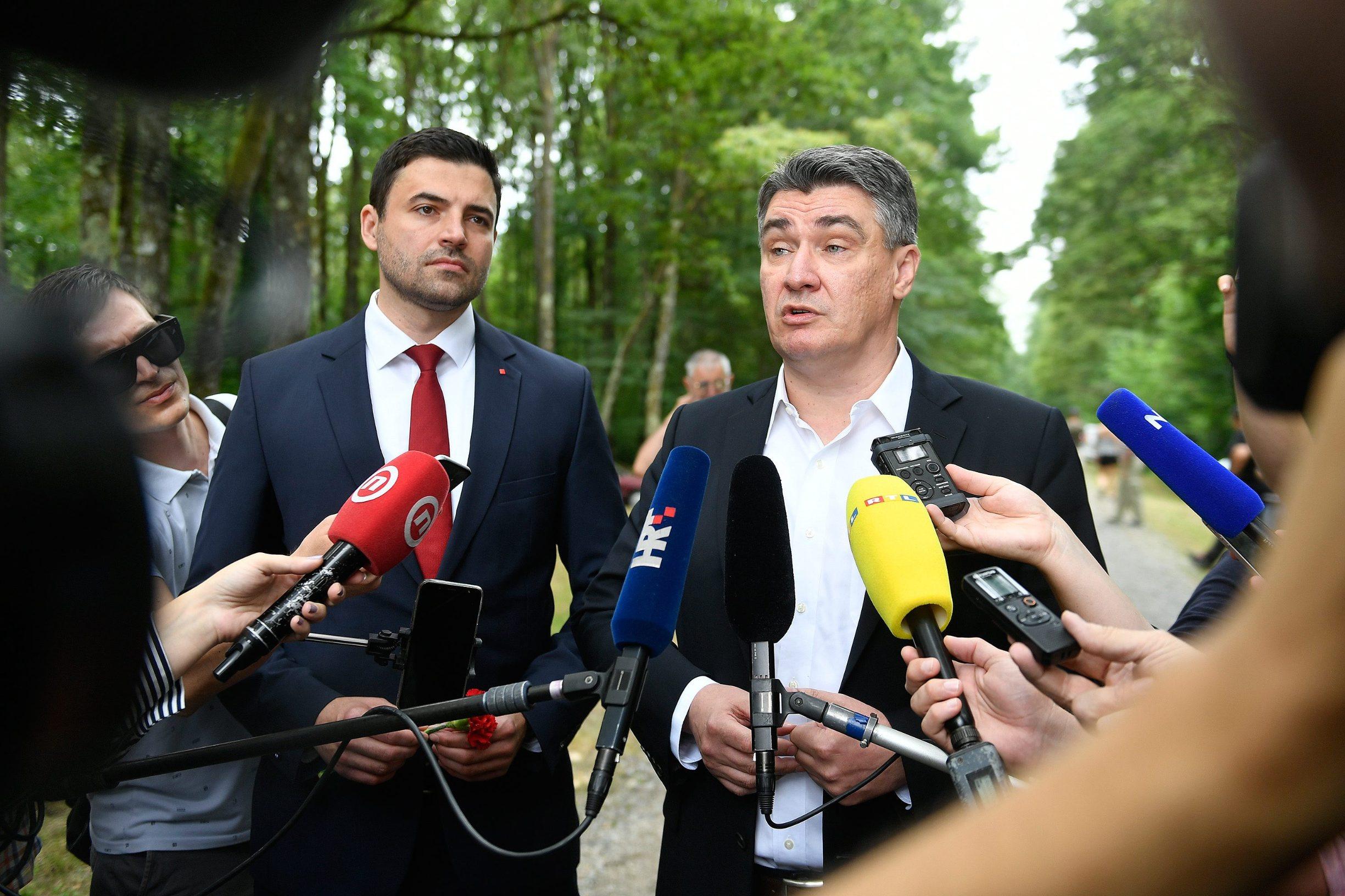 Davor Bernardić i Zoran Milanović