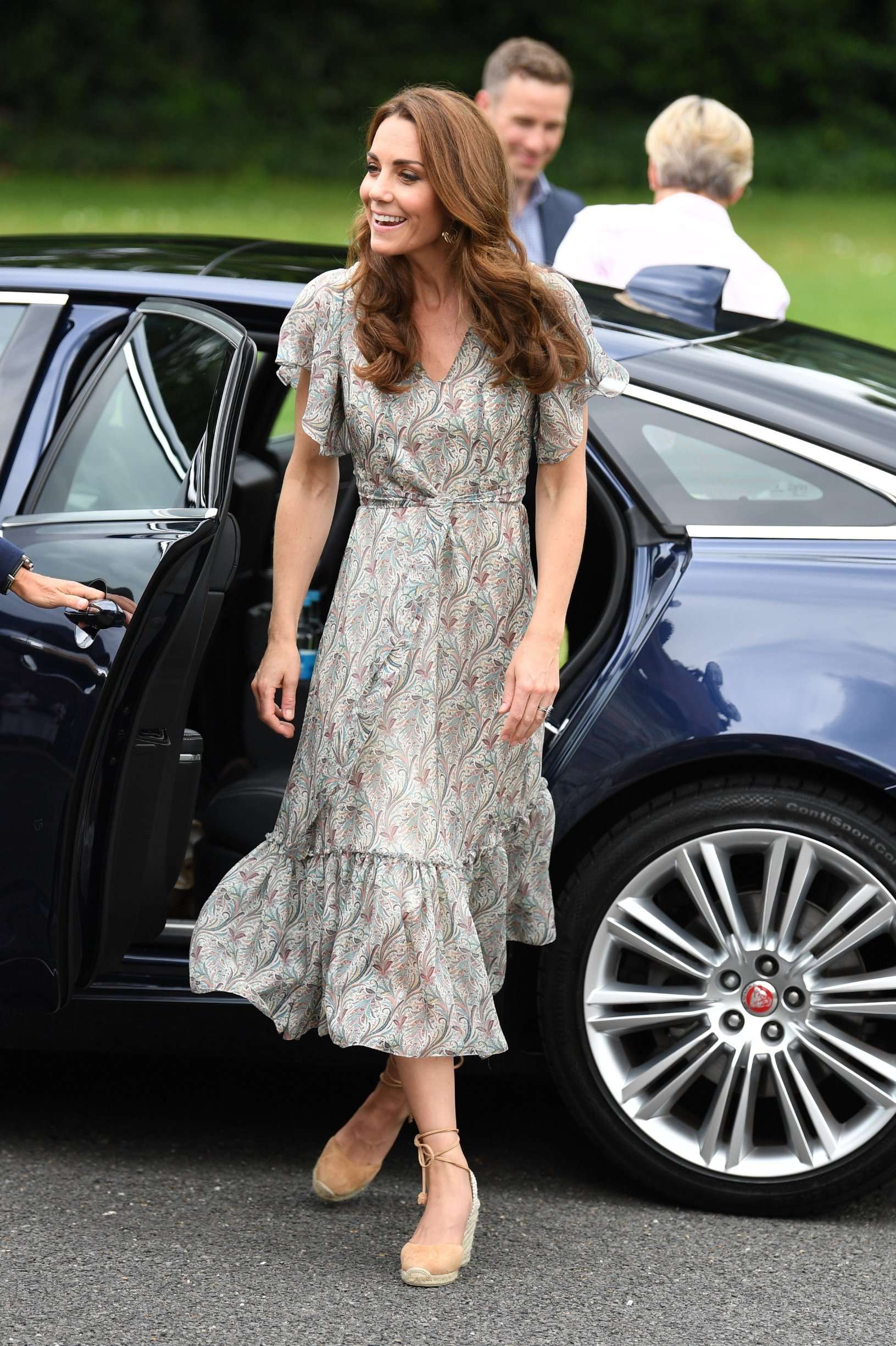The Duchess of Cambridge joins a photography workshop with Action for Children and the Royal Photographic Society at Warren Park Children's Centre, Kingston Upon Thames, London, UK, on the 25th June 2019. 25 Jun 2019, Image: 451468289, License: Rights-managed, Restrictions: NO United Kingdom, Model Release: no, Credit line: Profimedia, Mega Agency