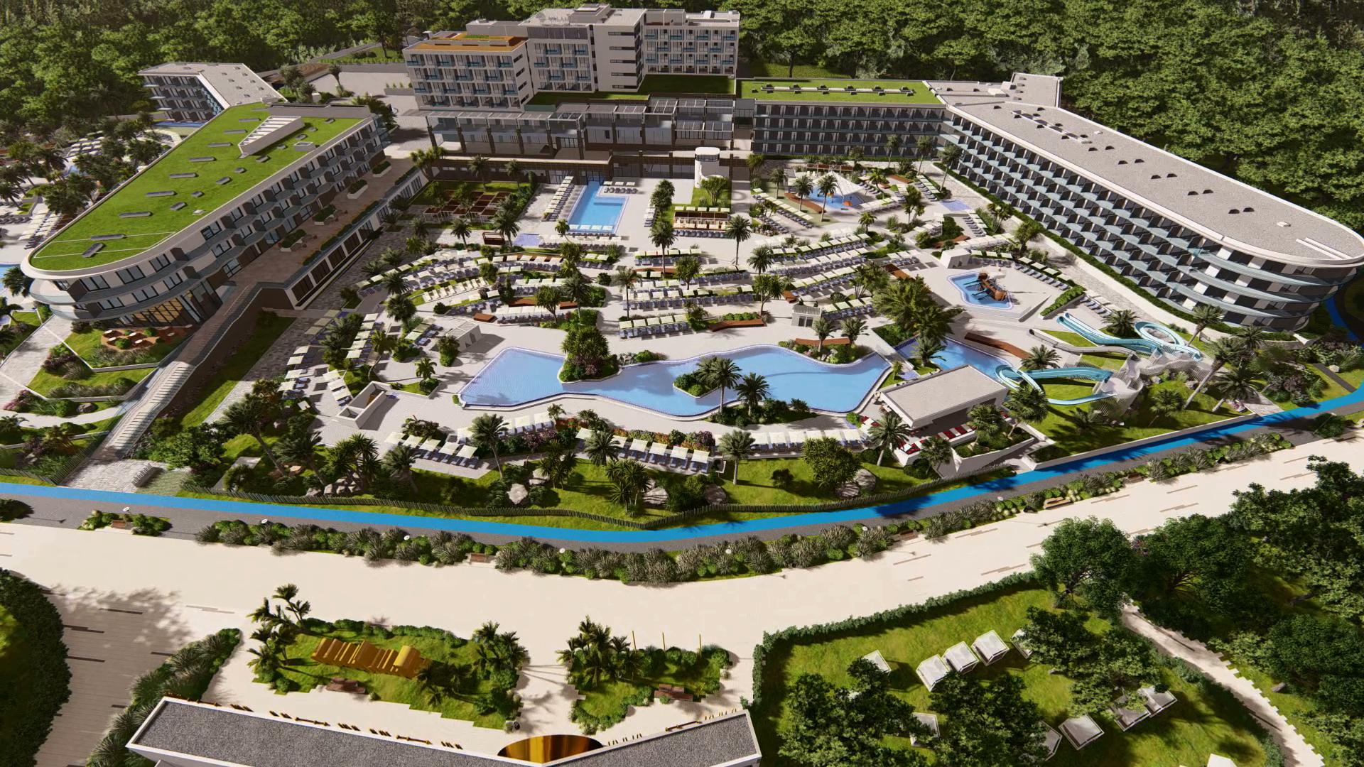 Vizualizacija budućeg resorta Pical