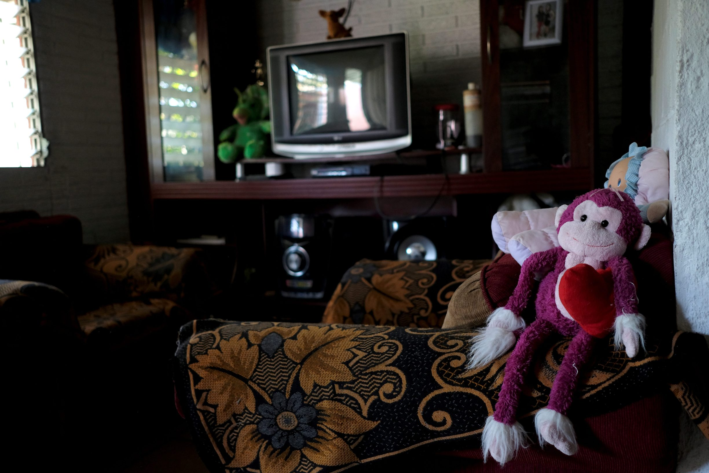 Dolls are pictured at the house of Rosa Ramirez, mother of Oscar Alberto Martinez Ramirez, a migrant who drowned in the Rio Grande River with his daughter Valeria during their journey to the U.S., in the Altavista neighbourhood in San Martin, El Salvador June 26, 2019. REUTERS/Jose Cabezas