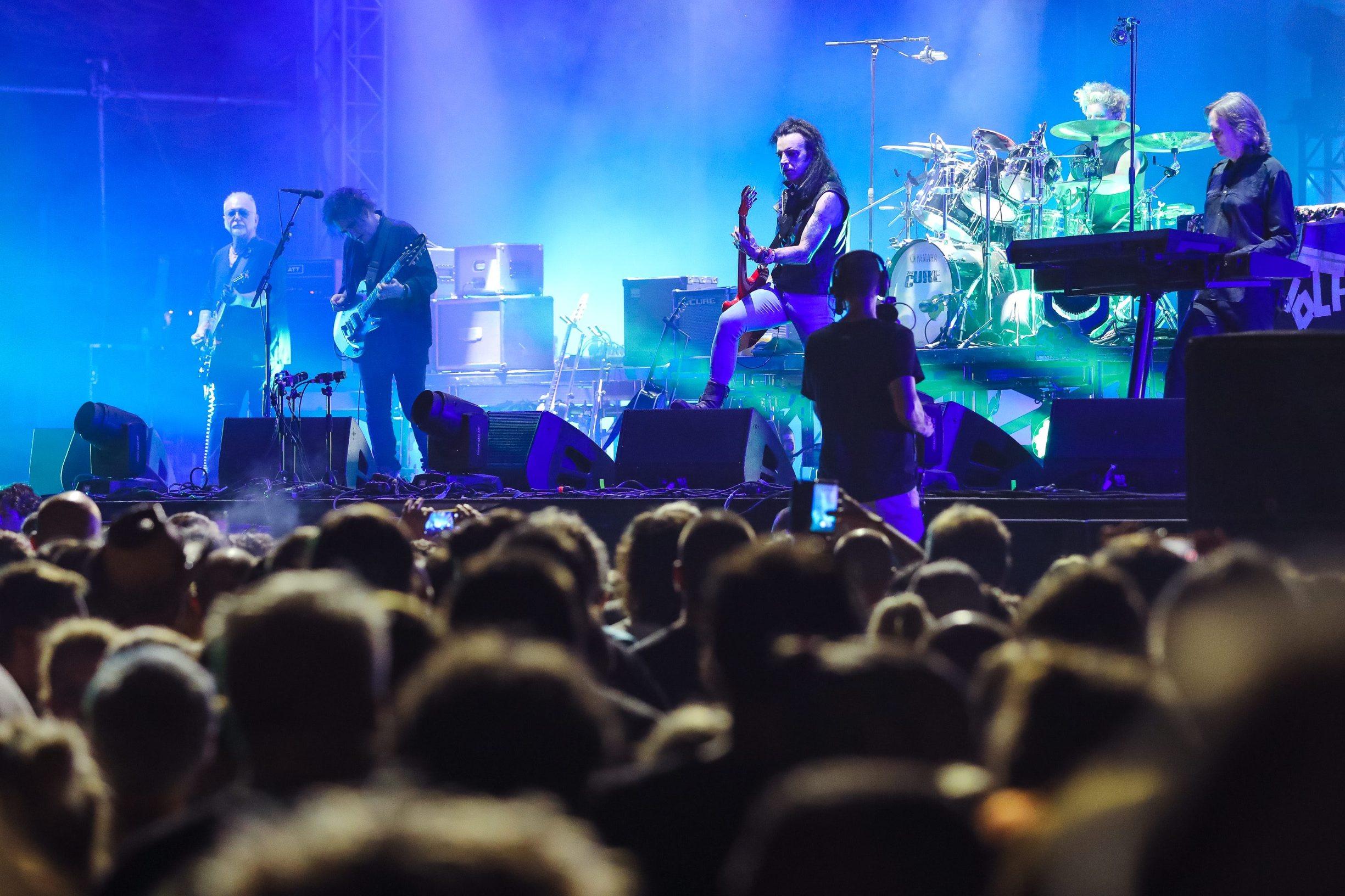 Nastup grupe The Cure na festivalu INmusic