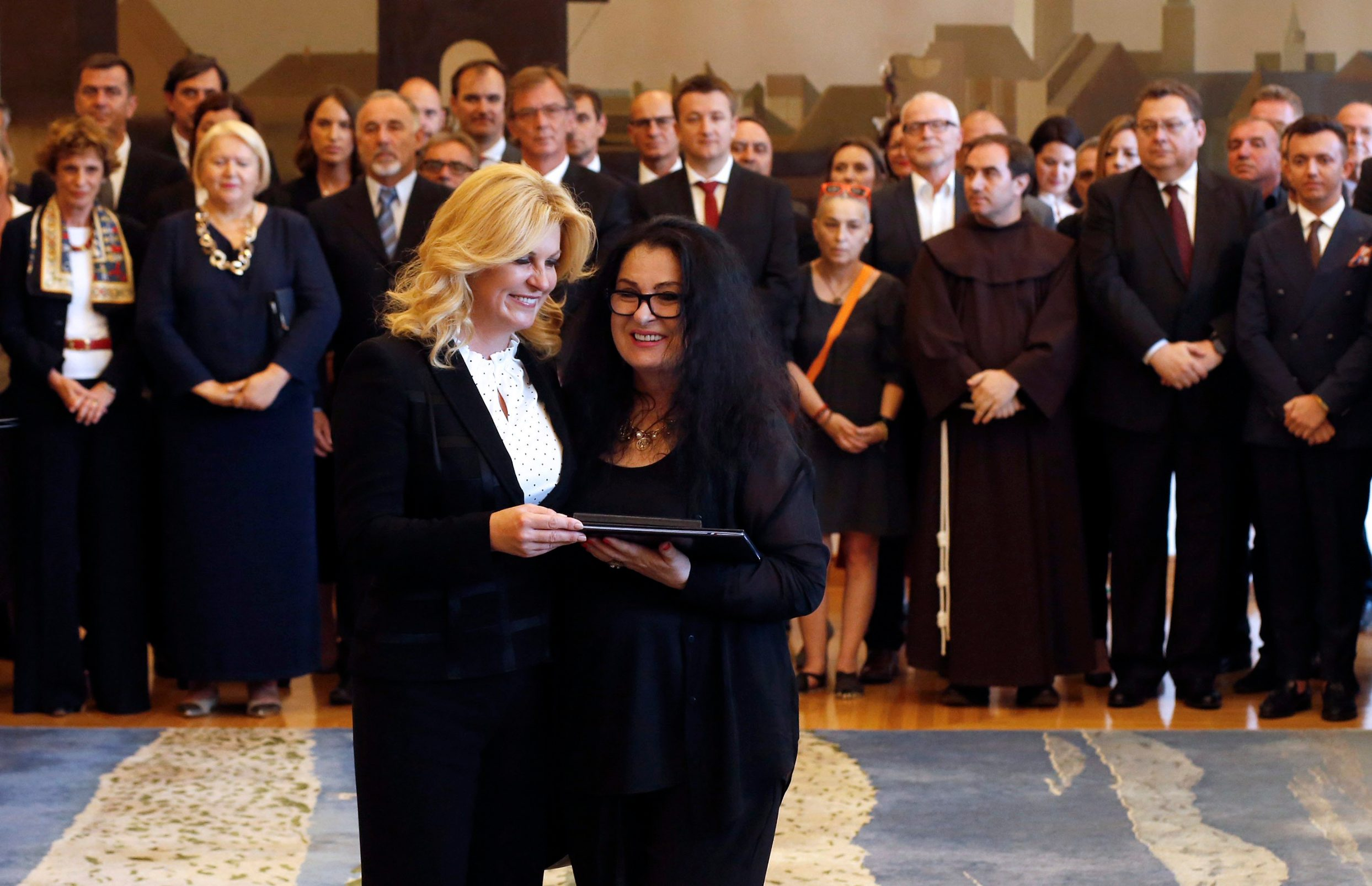 Kolinda Grabar-Kitarović i Vesna Dragojević