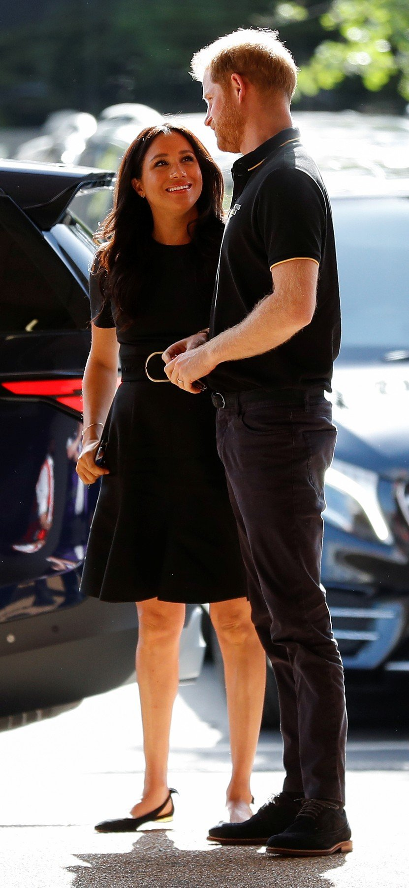 The Duke and Duchess of Sussex arrive to attend the Boston Red Sox vs New York Yankees baseball game at the London Stadium in support of the Invictus Games Foundation., Image: 452571150, License: Rights-managed, Restrictions: , Model Release: no, Credit line: Profimedia, Press Association
