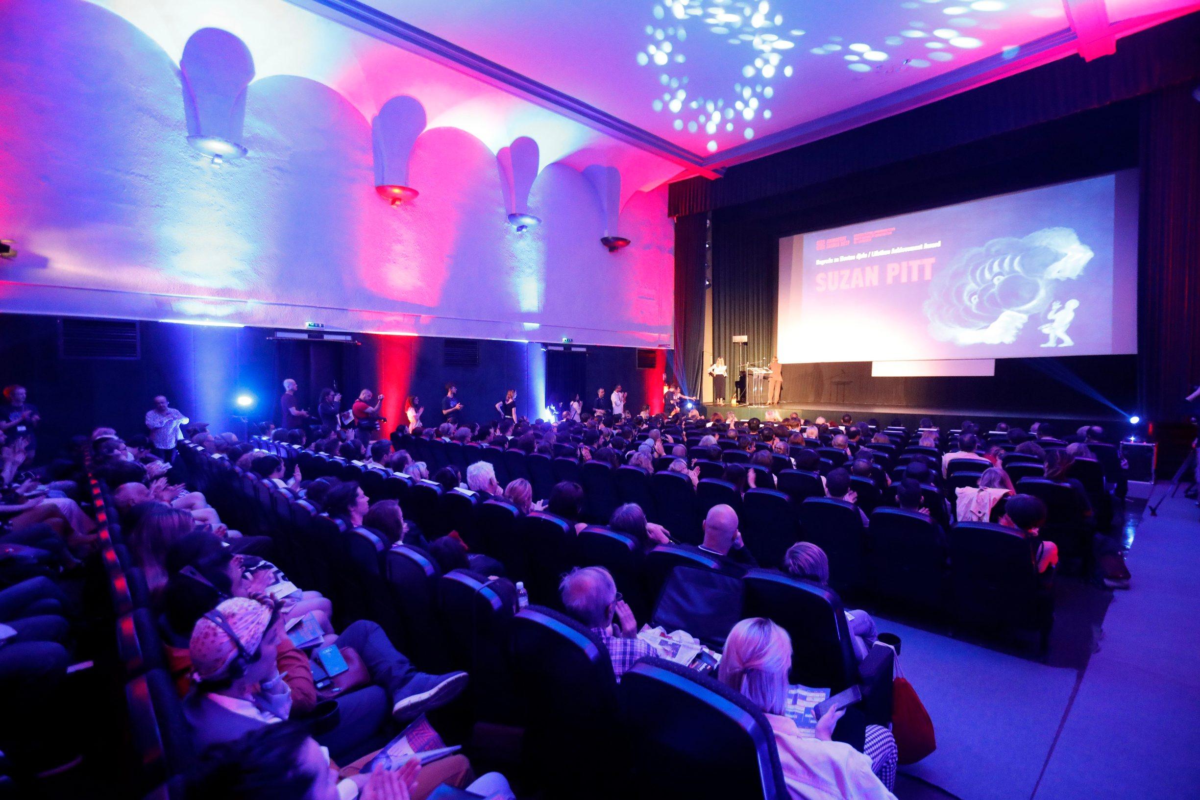 Zagreb, 030619. U kinu Tuskanac otvoren festival animiranog filma Animafest 2019. Na fotografiji: otvorenje Animafesta 2019. Foto: Tomislav Kristo / CROPIX