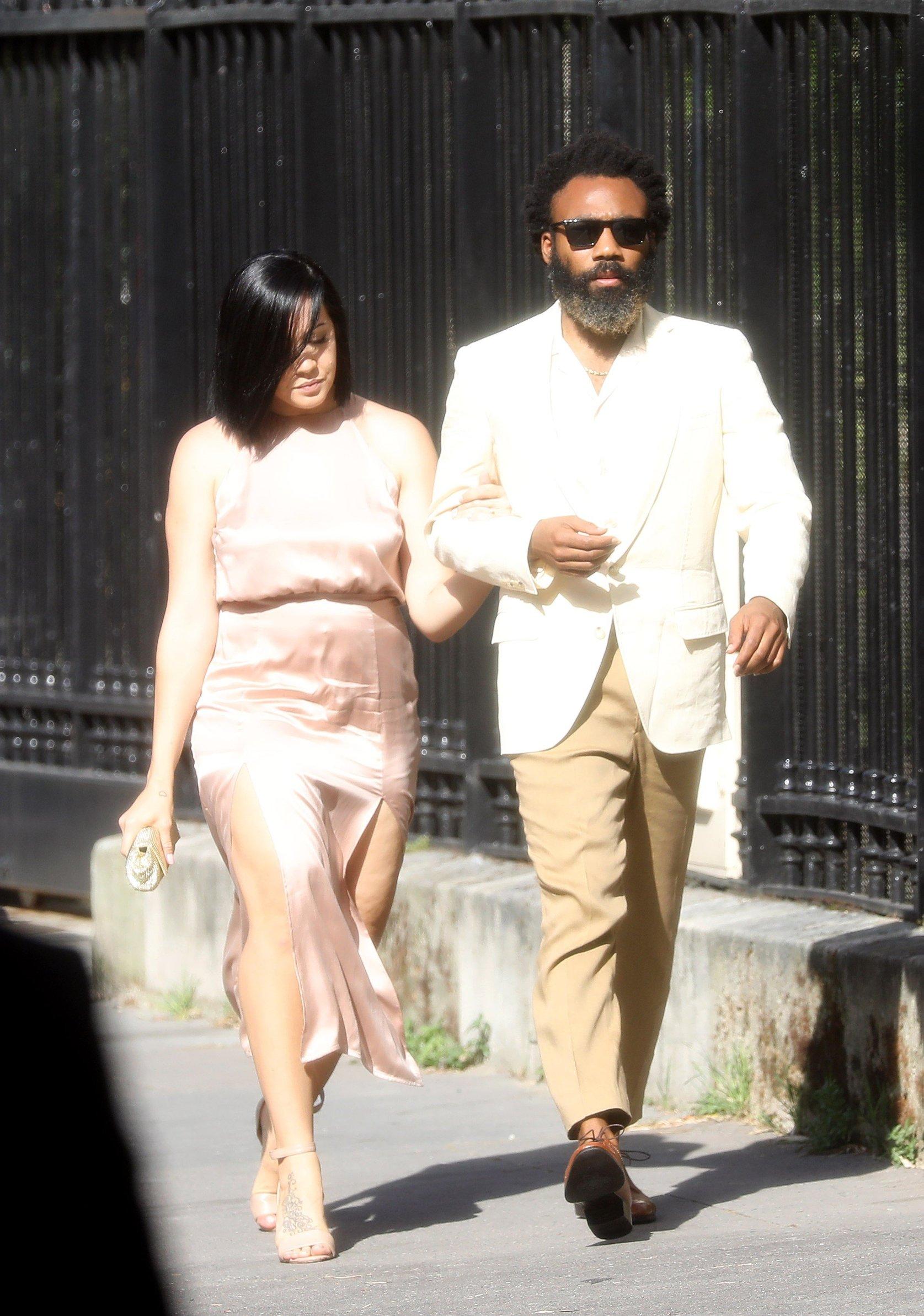 Zoe Kravitz Wedding with guests in the Lenny Kravitz parisian home Guests Paris le 29 juin 2019, Image: 452612292, License: Rights-managed, Restrictions: , Model Release: no, Credit line: Profimedia, KCS Presse