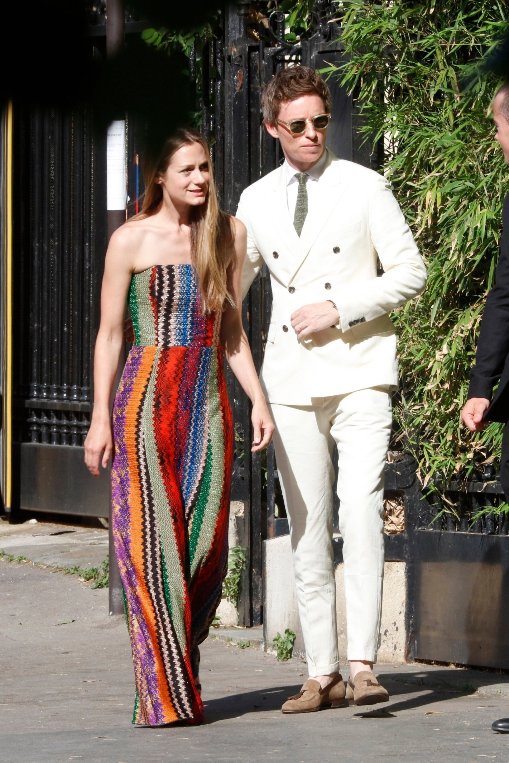 Paris, FRANCE  - Celebrates arrive to the Zoe Kravitz and Karl Glusman wedding reception at the Lenny Kravitz house in Paris.  *UK Clients - Pictures Containing Children Please Pixelate Face Prior To Publication*, Image: 452652045, License: Rights-managed, Restrictions: , Model Release: no, Credit line: Profimedia, Backgrid UK