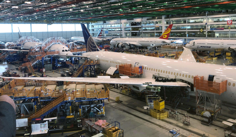 Tvornica kompanije Boeing u kojoj se proizvode modeli 787 Dreamlinersa
