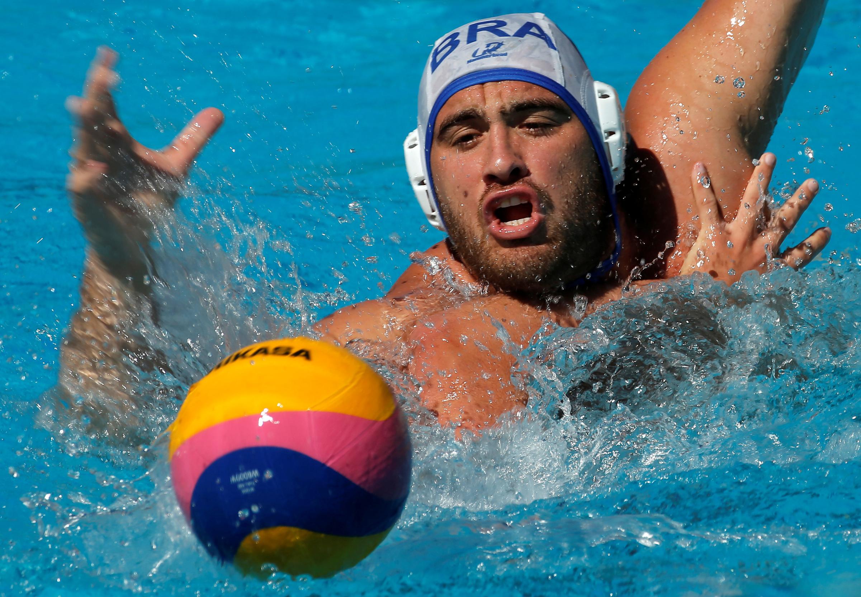 Water polo - Brazil men's team training - Rio de Janeiro, Brazil - 5/7/16 - Josip Vrlic in action. REUTERS/Sergio Moraes - D1BETNVZXRAA