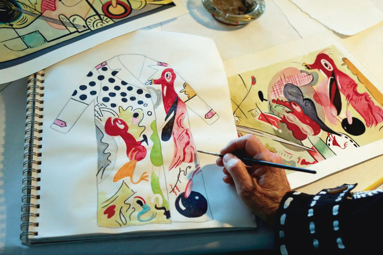 U 18 sati u Galeriji Kranjčar svečano se otvara izložba Kaputi-slike s unikatnim, rukom oslikanim kaputima Suzan Pitt koje u svojem butiku u New Yorku izlaže i Patricia Field, stilistica najpoznatija po radu na TV seriji 'Seks i grad'