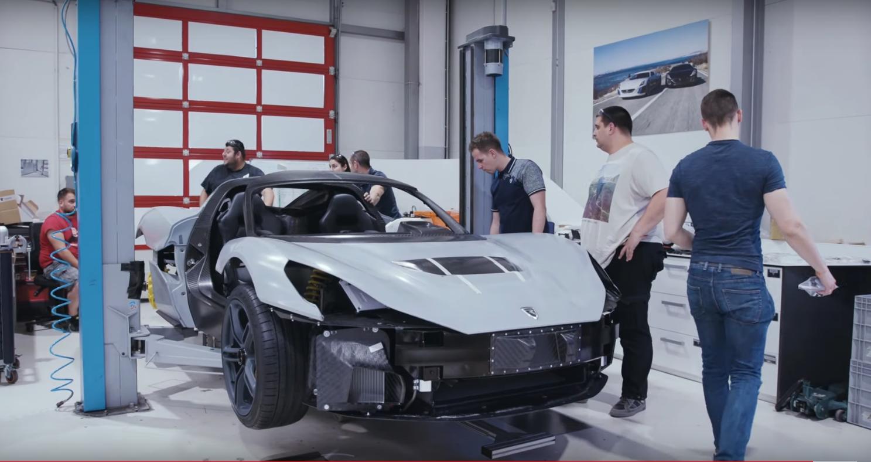 Proizvodnja i montaža Rimčevog električnog automobila