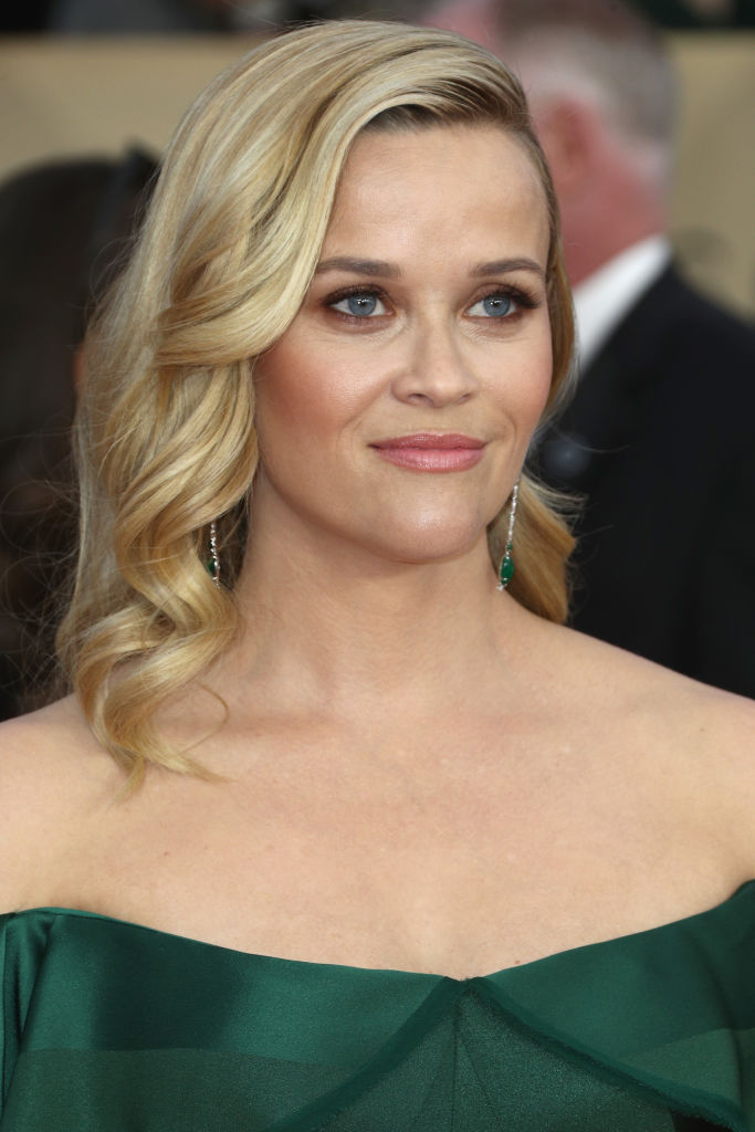 LOS ANGELES, CA - JANUARY 21:  Actor Reese Witherspoon attends the 24th Annual Screen Actors Guild Awards at The Shrine Auditorium on January 21, 2018 in Los Angeles, California. 27522_017  (Photo by Frederick M. Brown/Getty Images)
