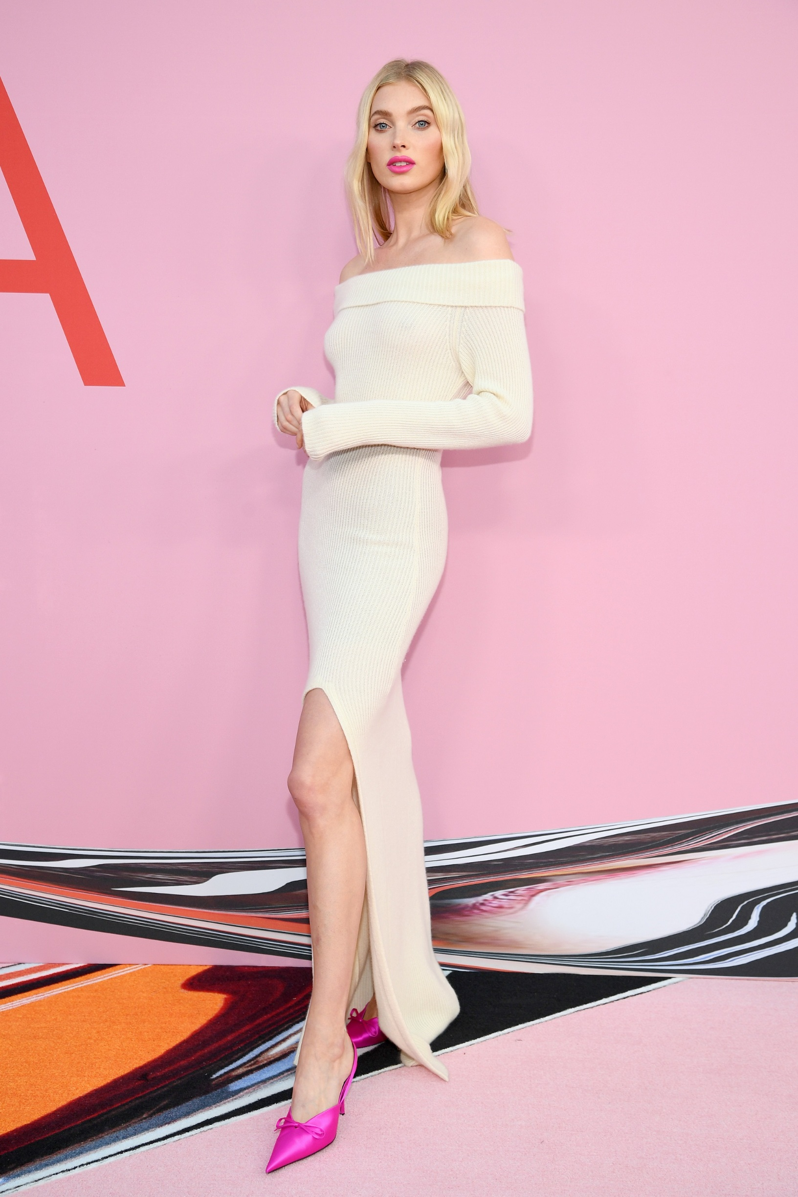 NEW YORK, NEW YORK - JUNE 03: Elsa Hosk attends the CFDA Fashion Awards at the Brooklyn Museum of Art on June 03, 2019 in New York City. (Photo by Dimitrios Kambouris/Getty Images)