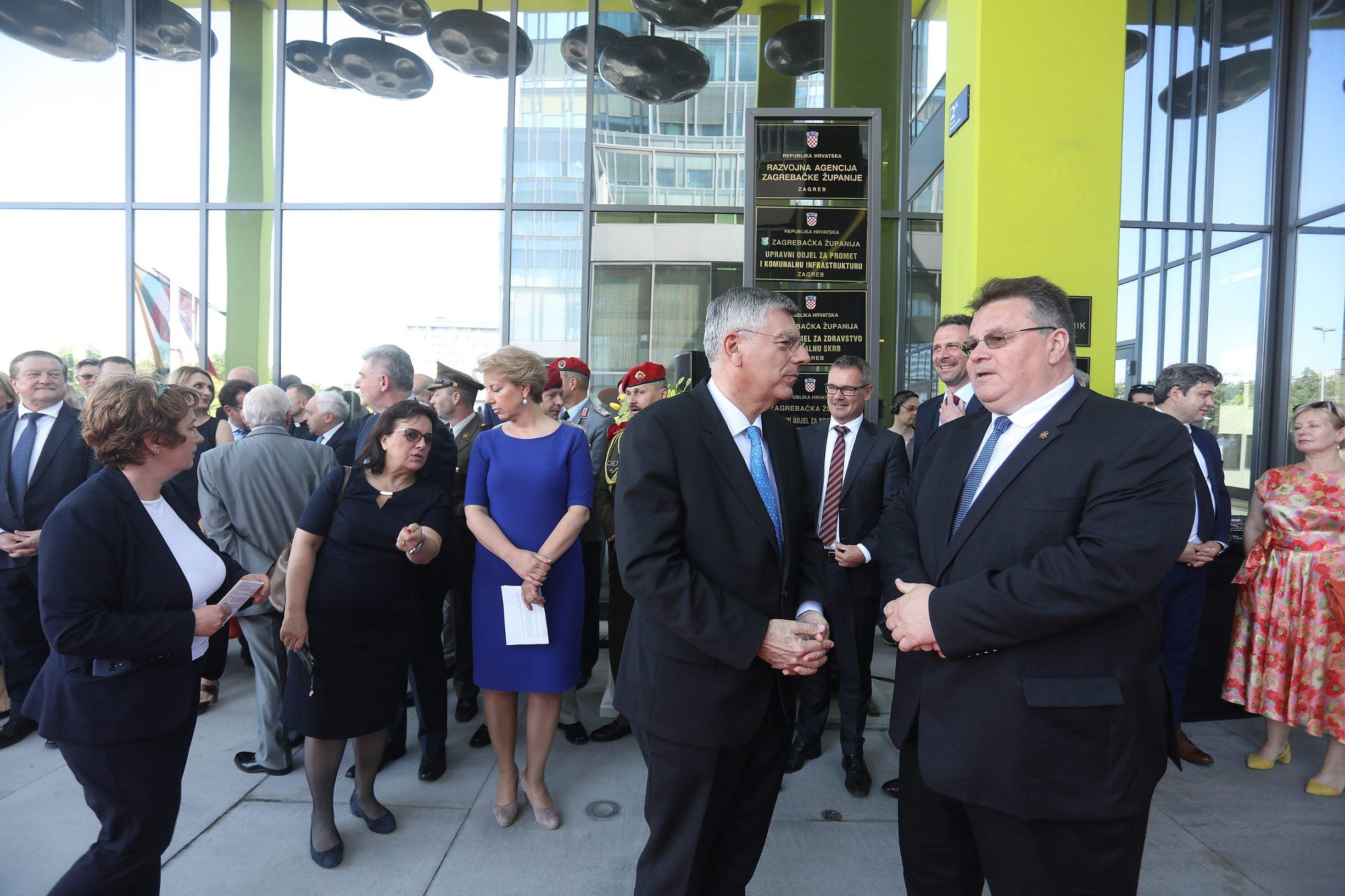 Jutarnji List Video Otvoreno Veleposlanstvo Litve U Zagrebu