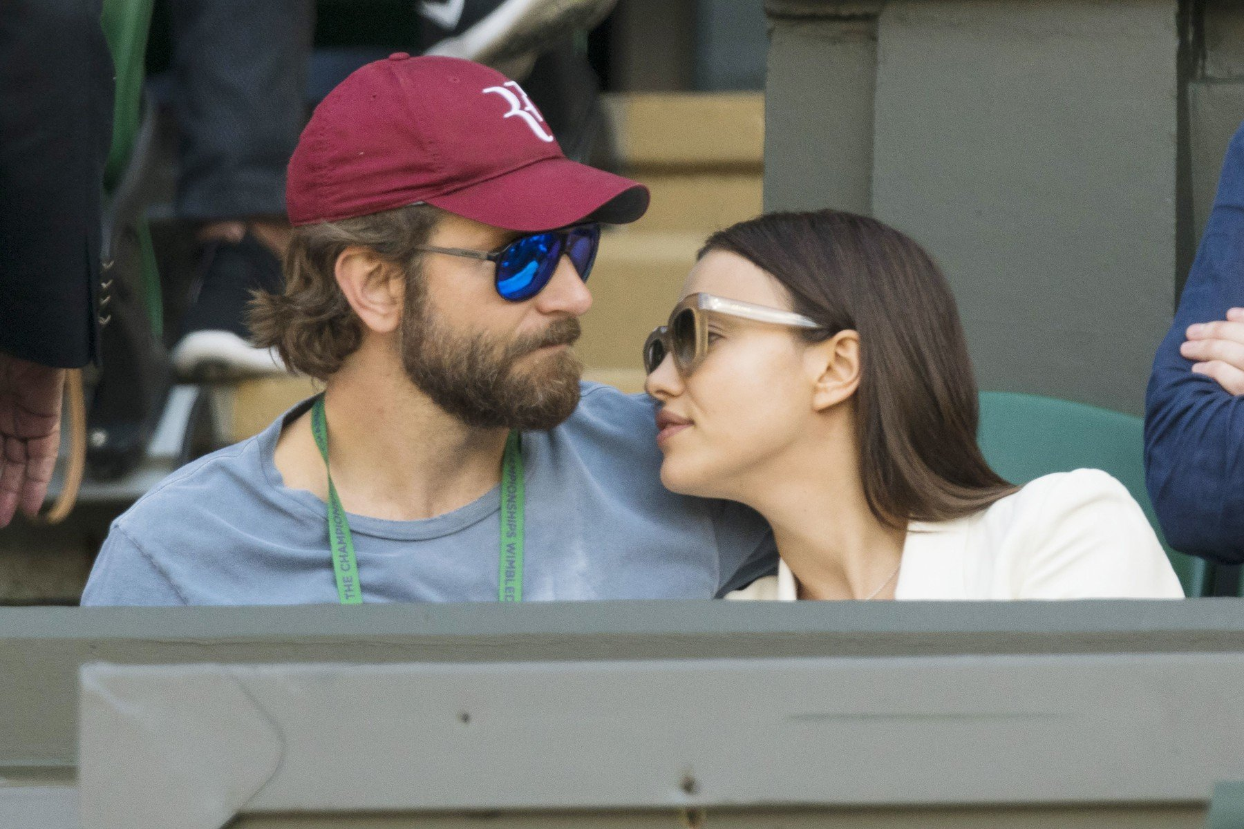 /Bradley Cooper and Irina Shayk Wimbledon Tennis Championships, London, UK  - 06 Jul 2016, Image: 293368108, License: Rights-managed, Restrictions: , Model Release: no, Credit line: Profimedia, TEMP Rex Features