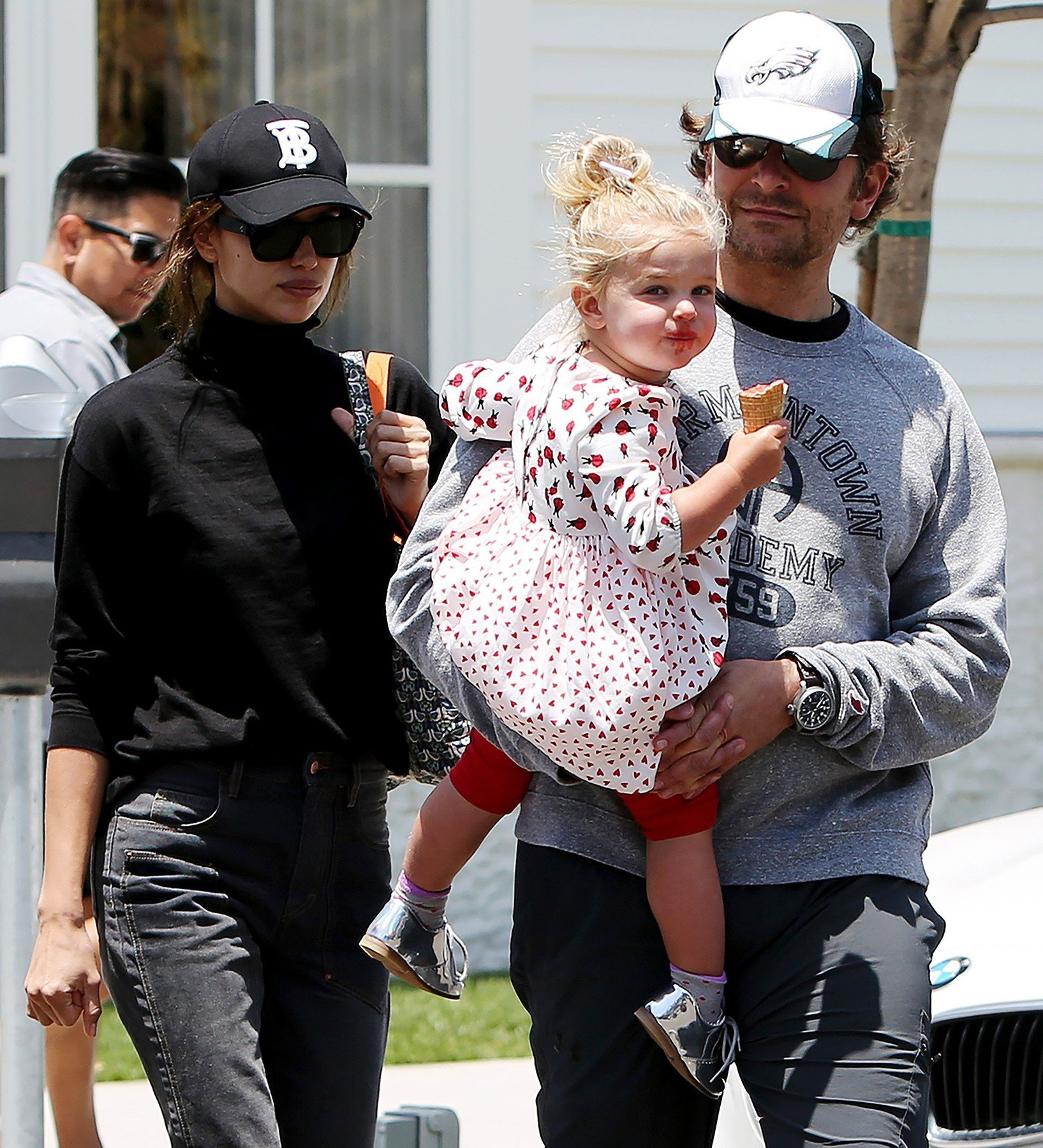 Irina Shayk, Lea De Seine Shayk Cooper and Bradley Cooper Bradley Cooper and Irina Shayk out and about, Brentwood,  California, USA - 25 May 2019, Image: 437359270, License: Rights-managed, Restrictions: , Model Release: no, Credit line: Profimedia, TEMP Rex Features