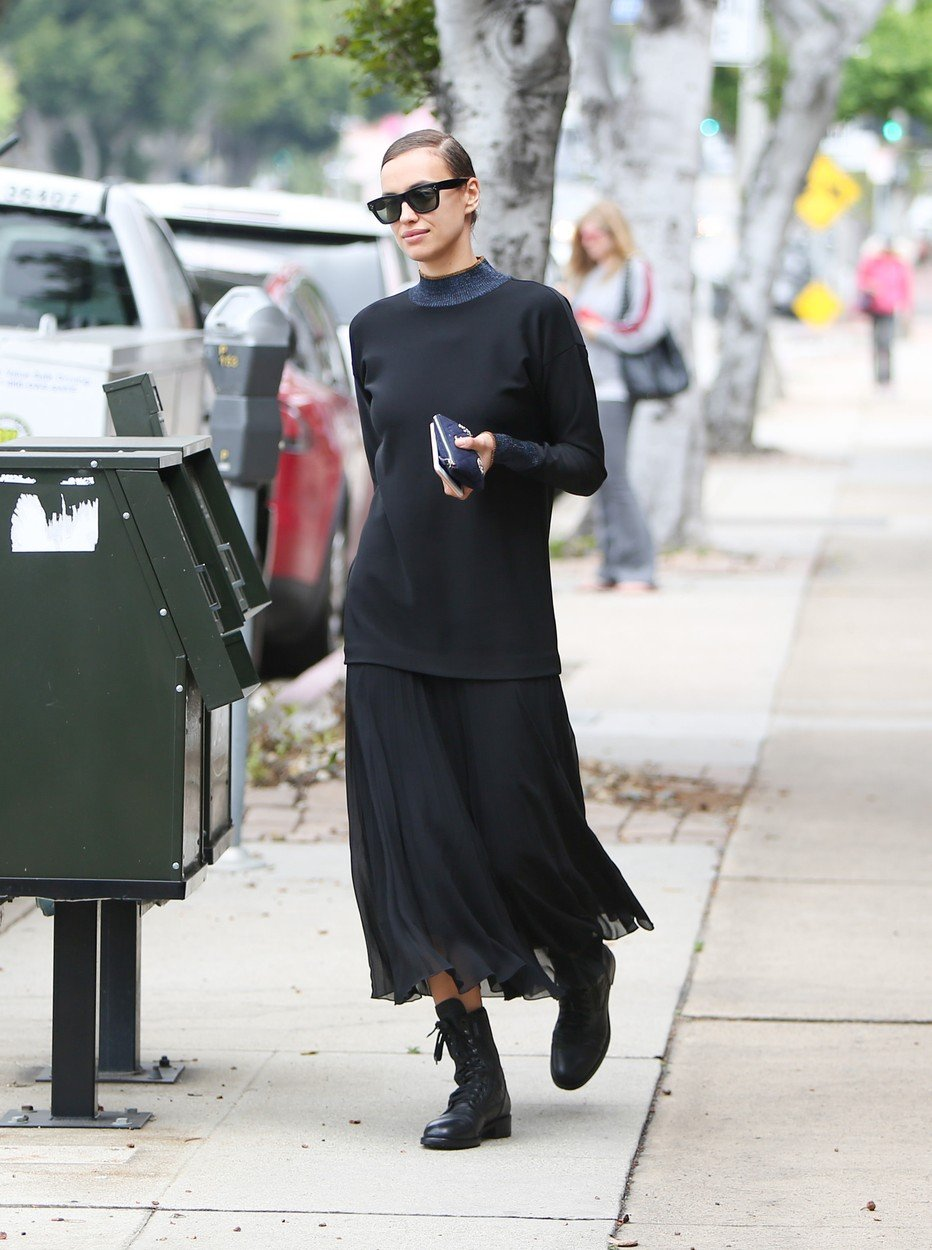 Irina Shayk is seen in Los Angeles, California. 06 Jun 2019, Image: 443964229, License: Rights-managed, Restrictions: World Rights, Model Release: no, Credit line: Profimedia, Mega Agency